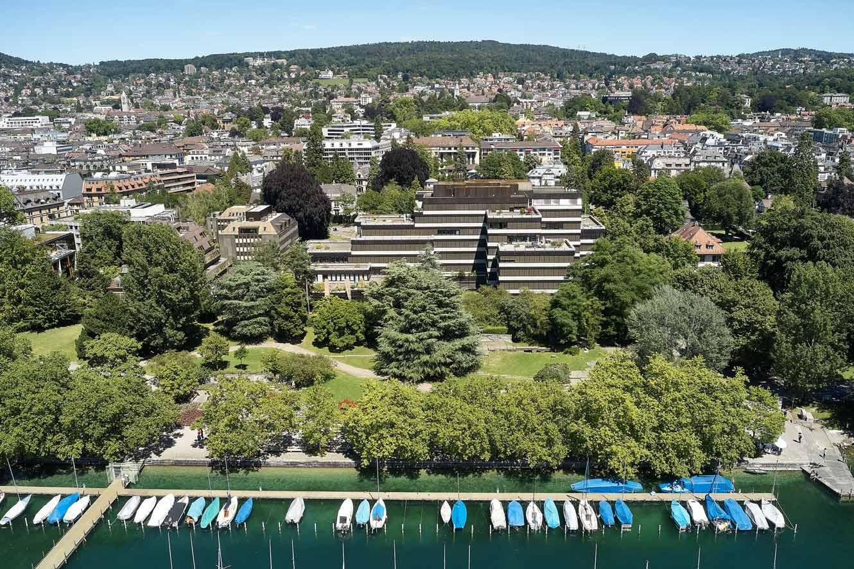 Bürogebäude an der Bellerivestrasse 36 in Zürich