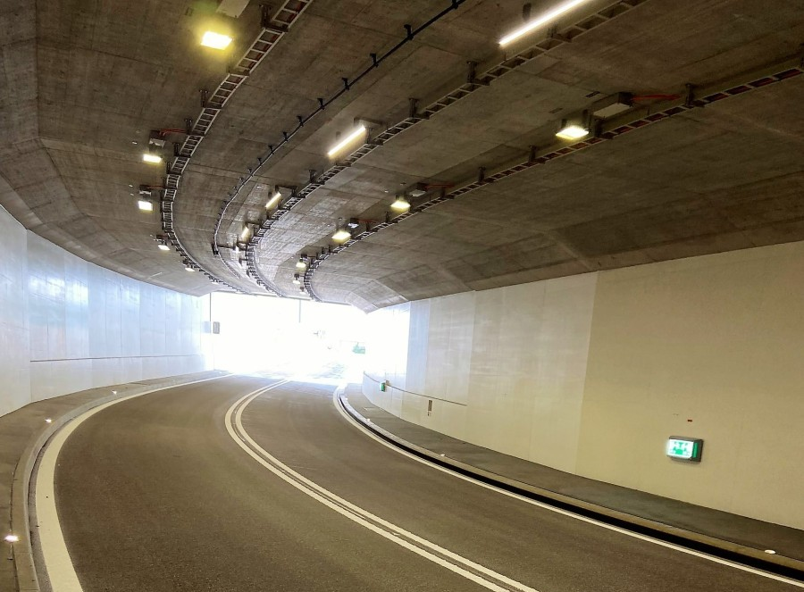 Neuer Tunnel Neuhof in Lenzburg