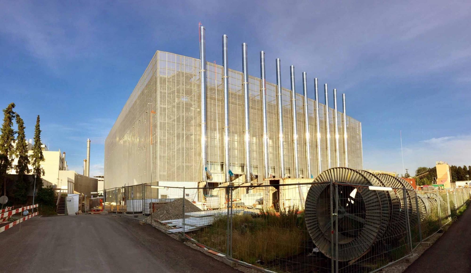 Bau Rechenzentrum von Interxion in Glattbrugg