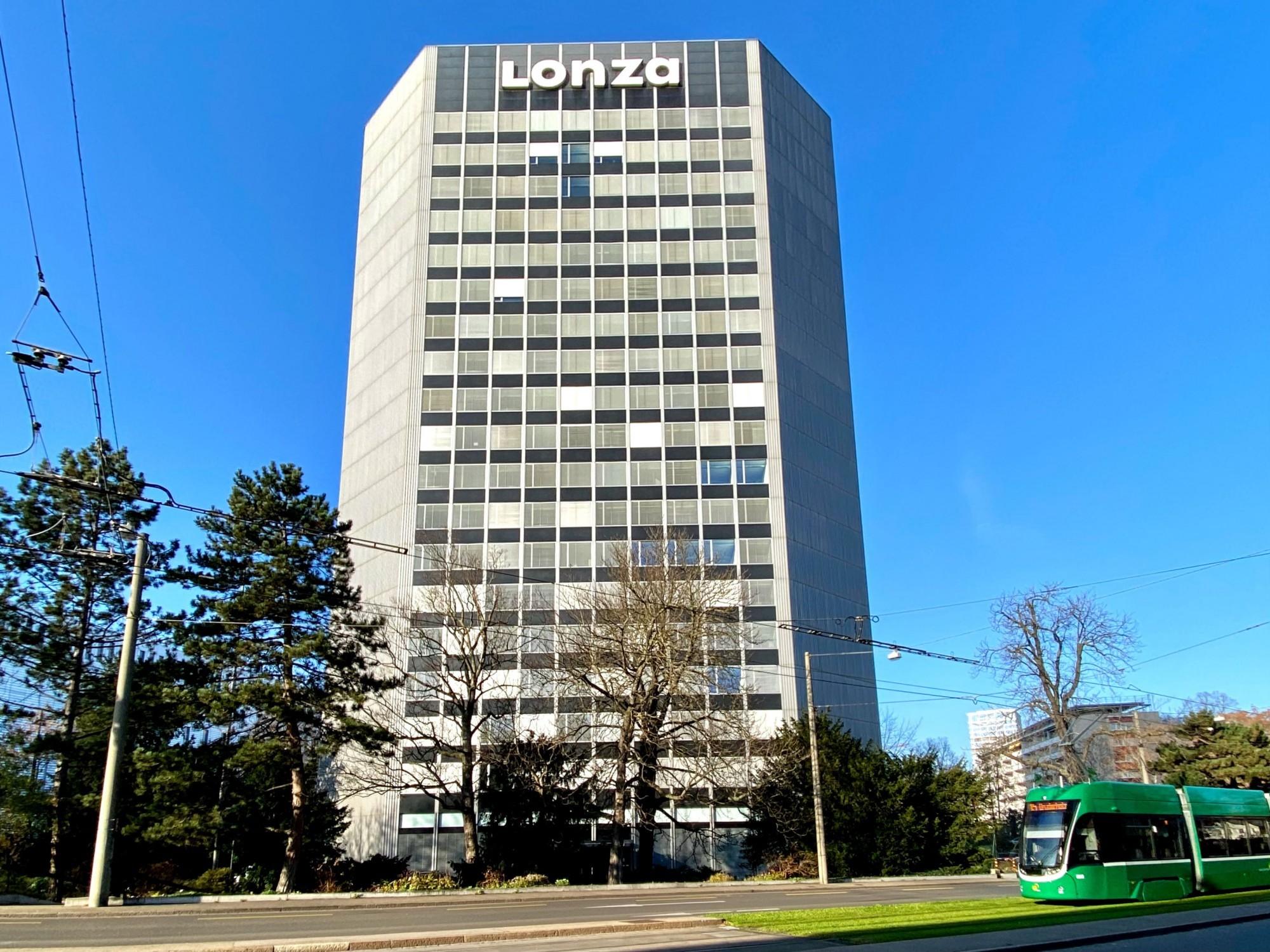 Lonza Turm Hochhaus Basel