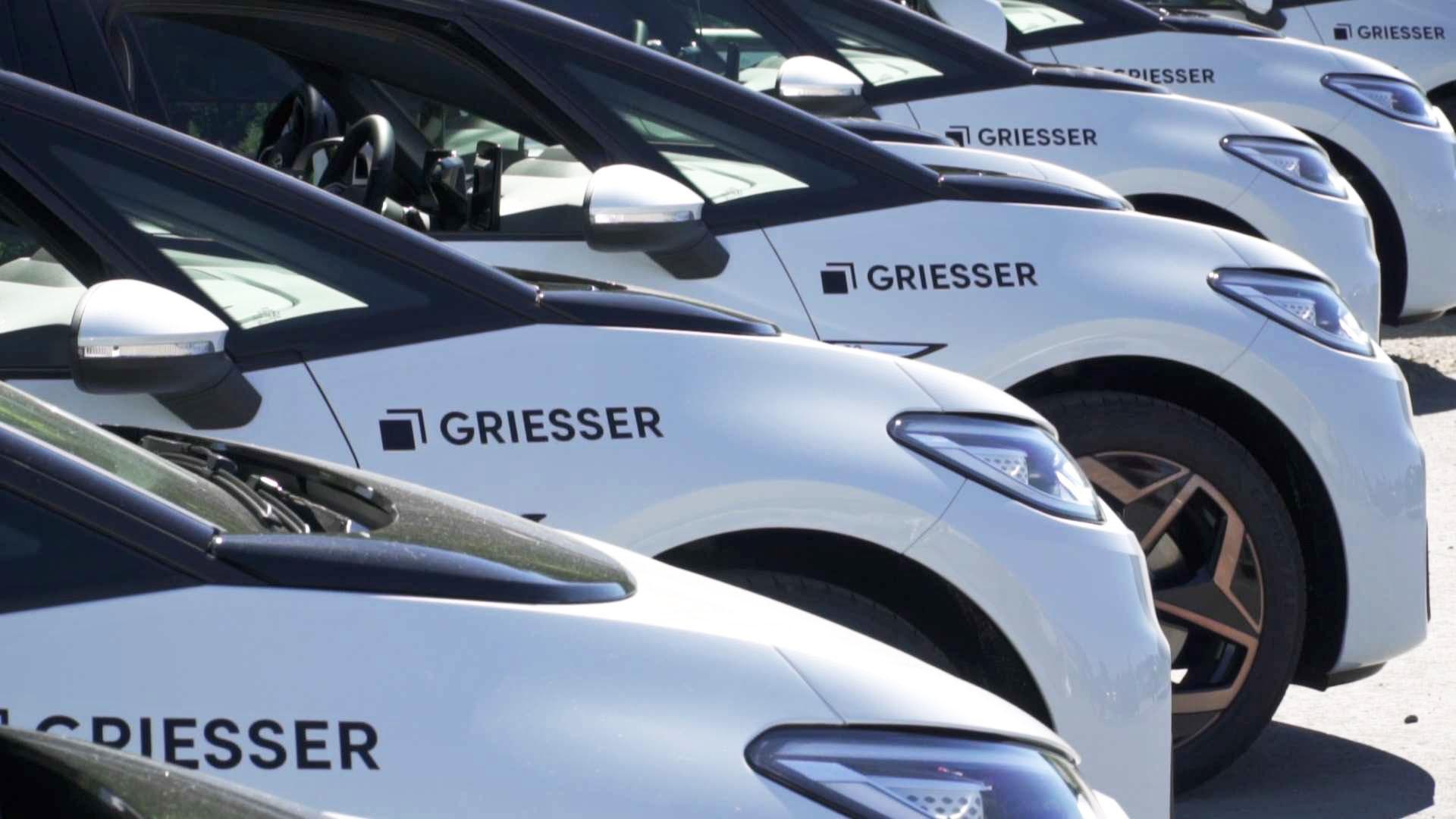 Elektrische Fahrzeugflotte von Griesser