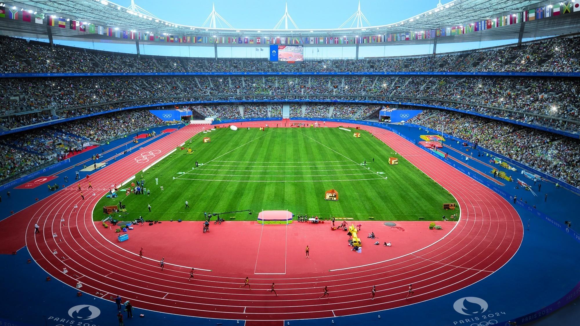 Visualisierung Olympiastadion in Saint-Denis