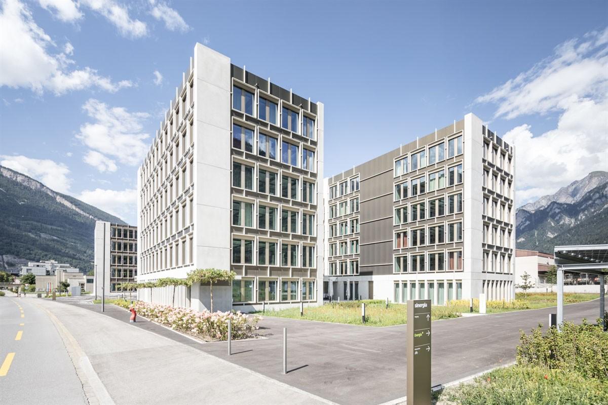 Verwaltungszentrum Sinergia in der Stadt Chur