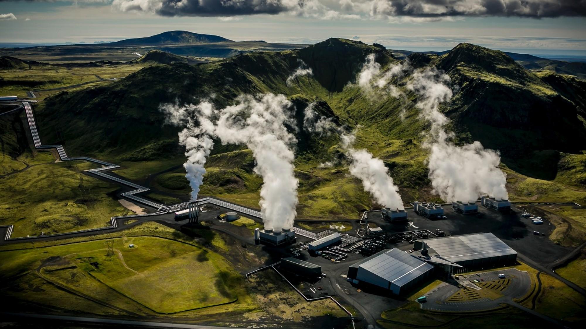 Hellisheiði-Kraftwerk in Island