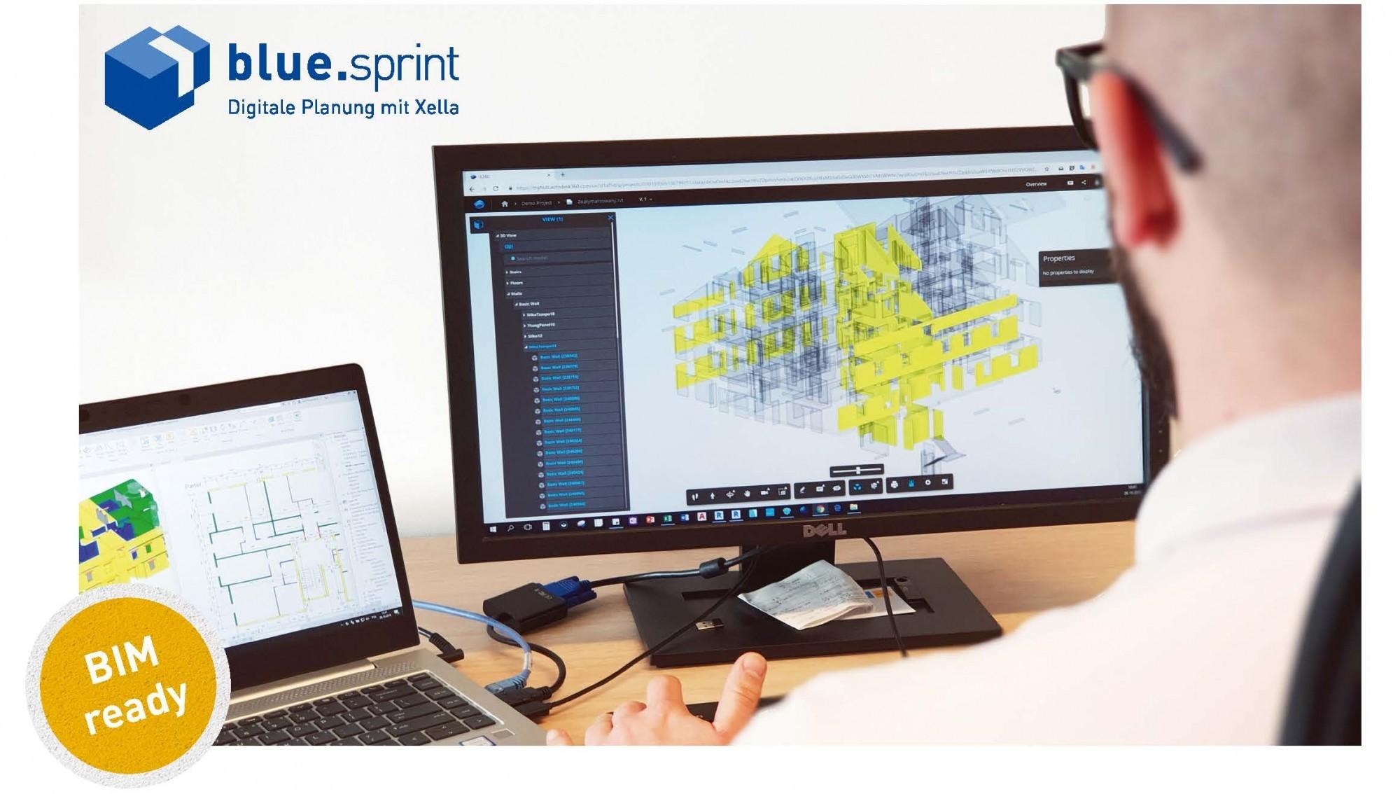 Projektoptimierung mit blue.sprint von Xella