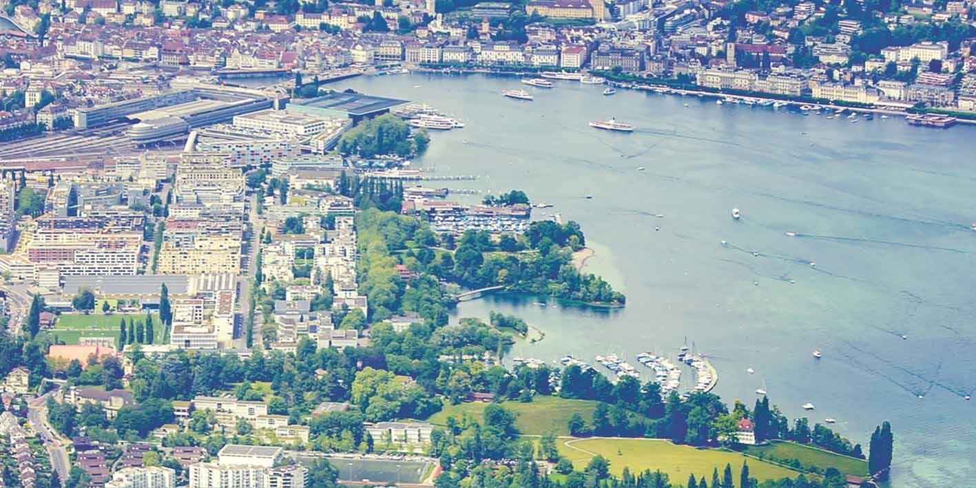 Blick auf die Stadt Luzern