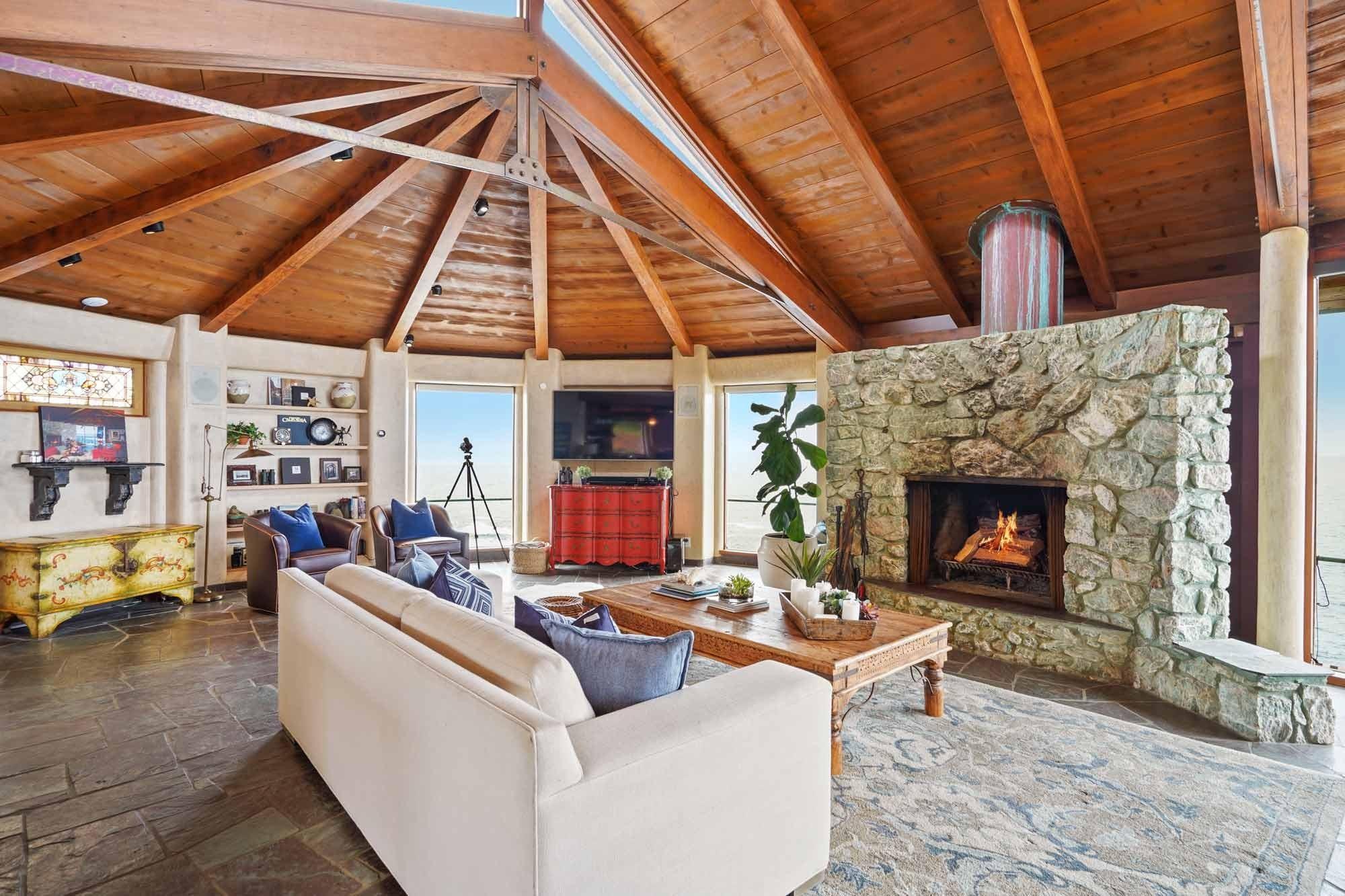 Innenraum Klippenhaus in der Stadt Carmel in Kalifornien