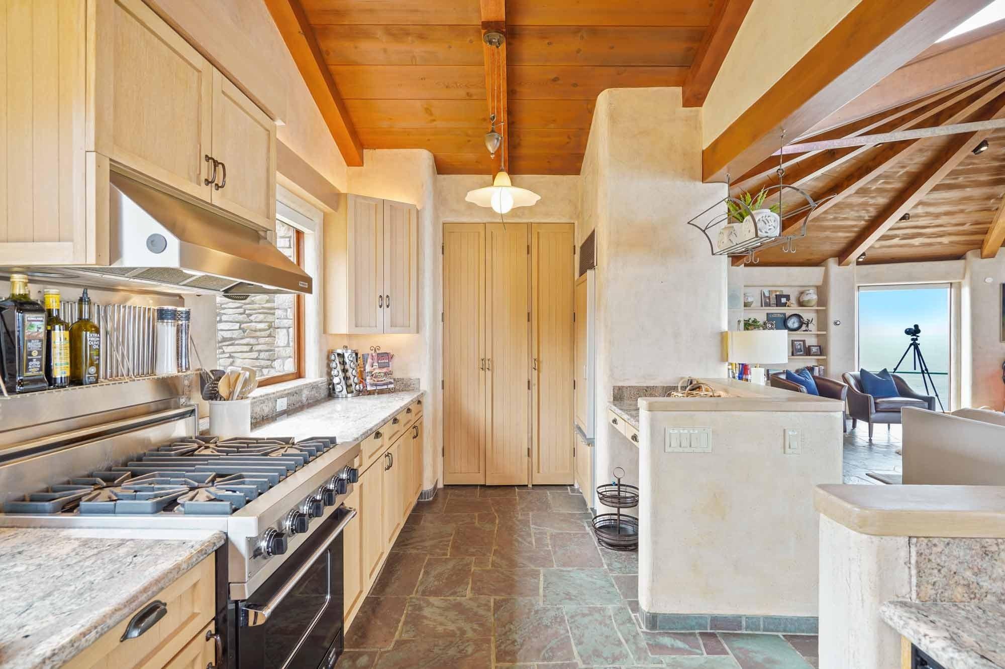 Küche Klippenhaus in der Stadt Carmel in Kalifornien