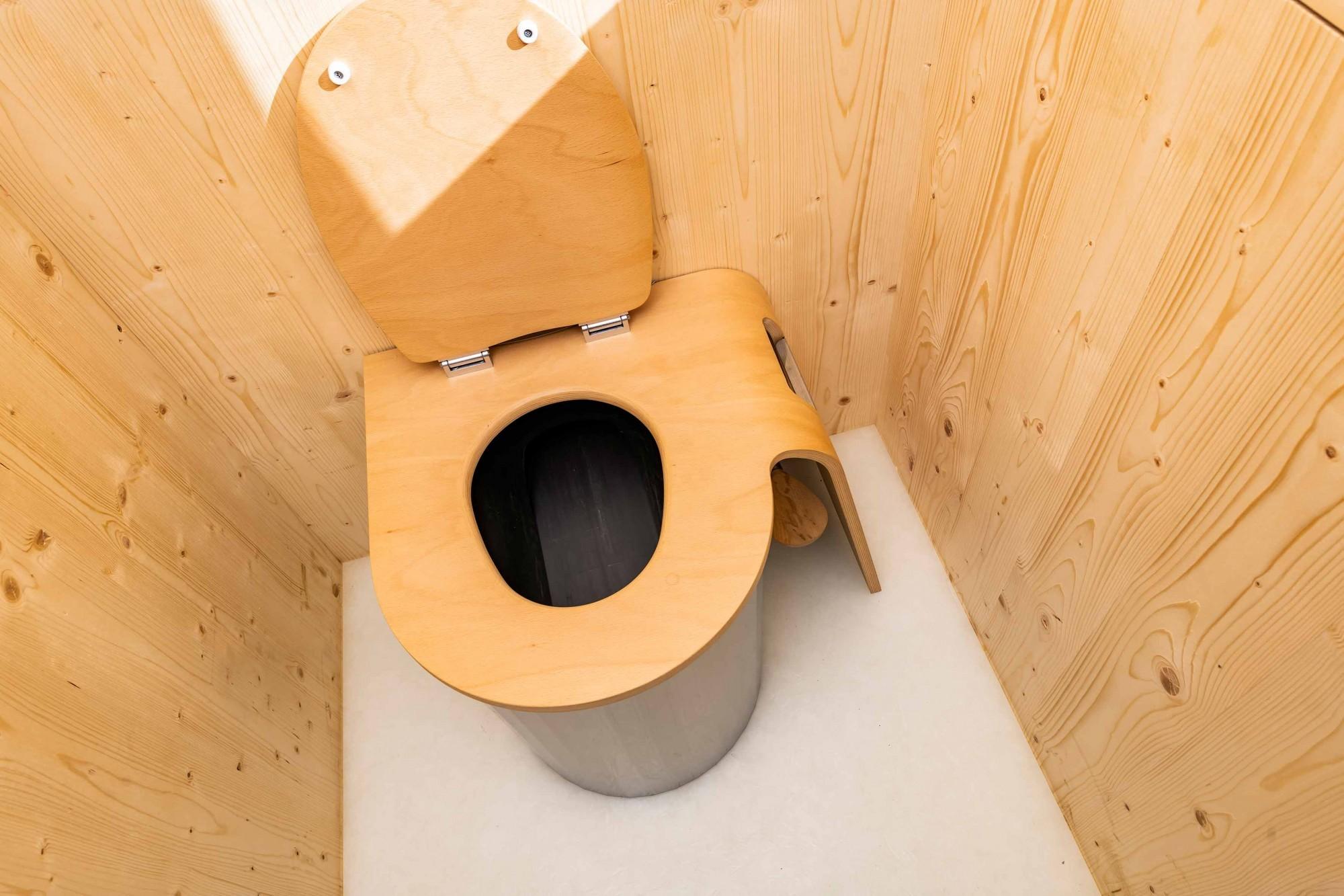 Trockentrenntoilette im Kreis-Haus in Hombrechtikon