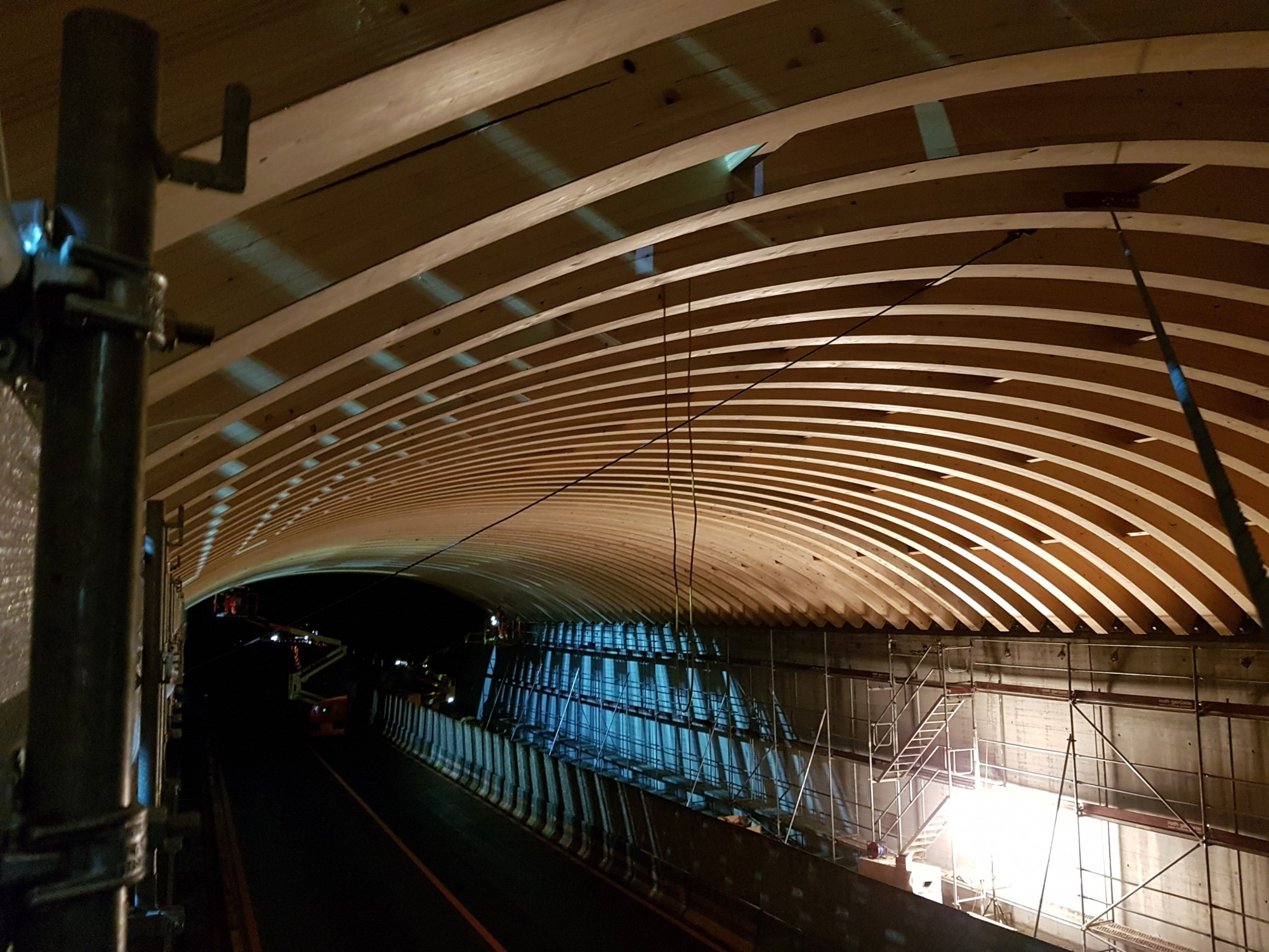 Tunnel Wildtierbrücke
