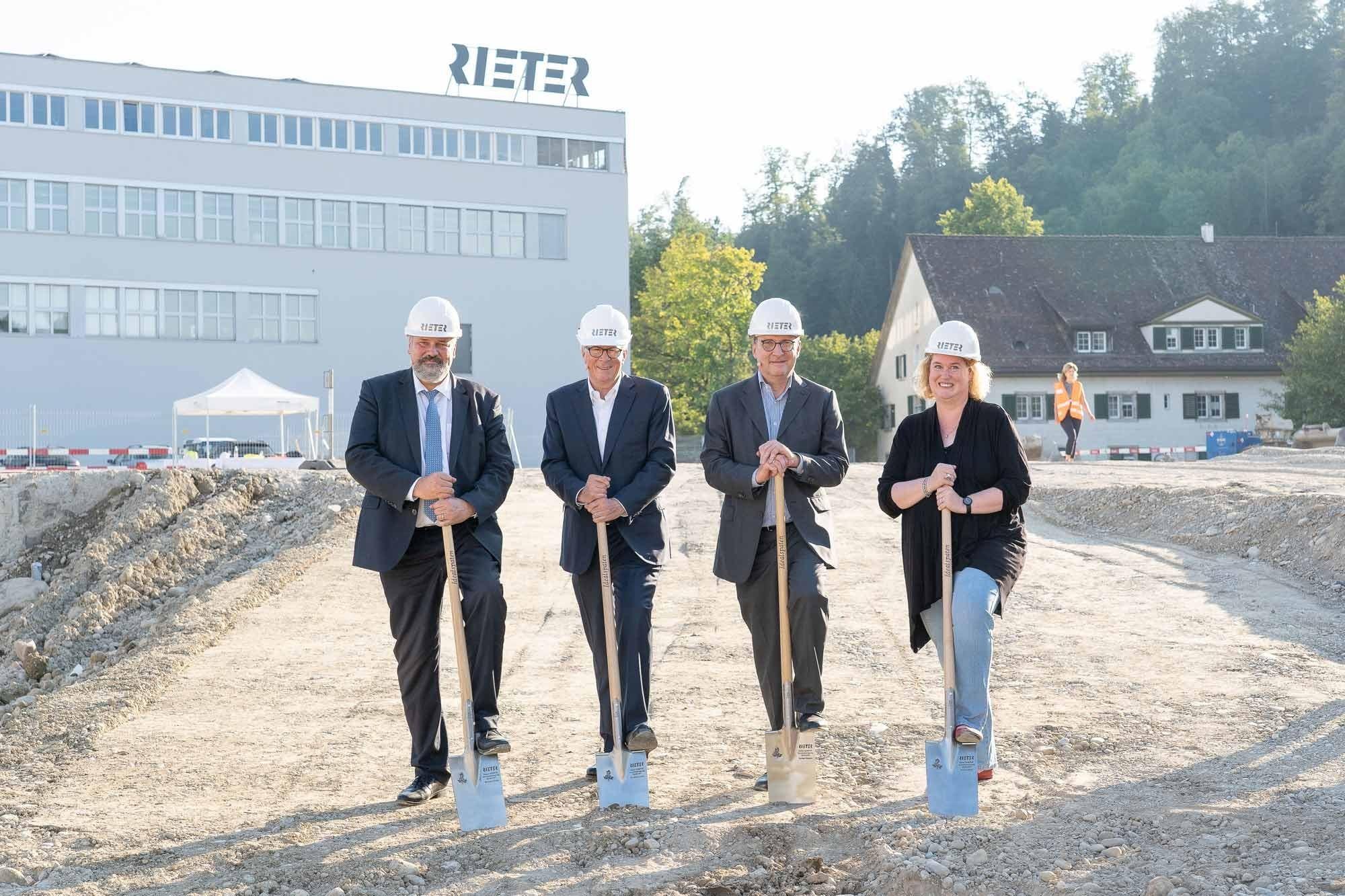 Grundsteinlegung Rieter Campus Winterthur