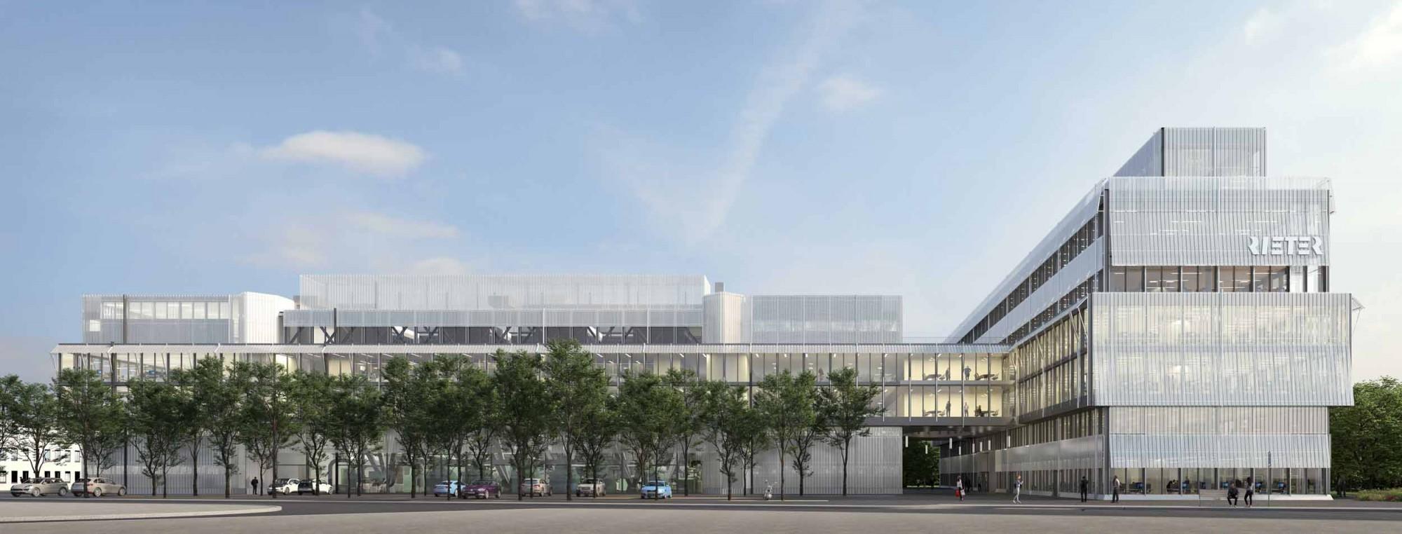 Visualisierung Rieter Campus Winterthur