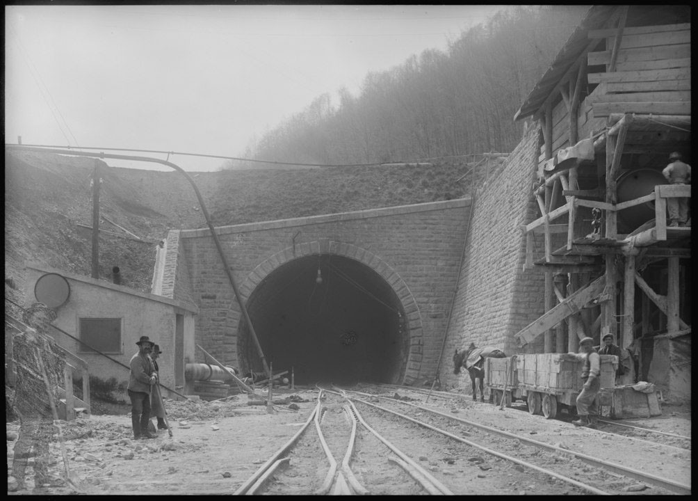 Hauenstein-Nordportal um 1914