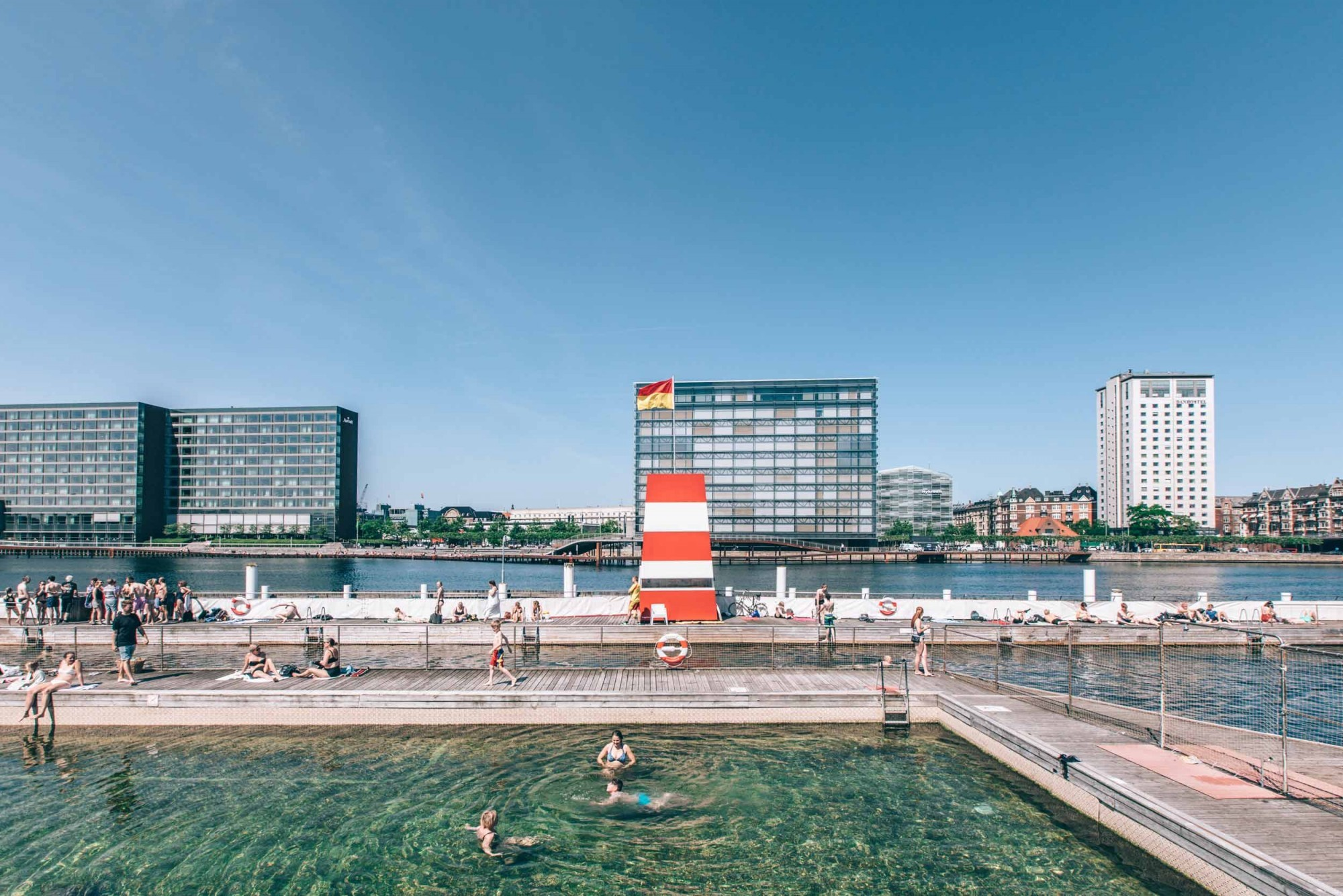 Hafenbad Islands Brygge, Kopenhagen