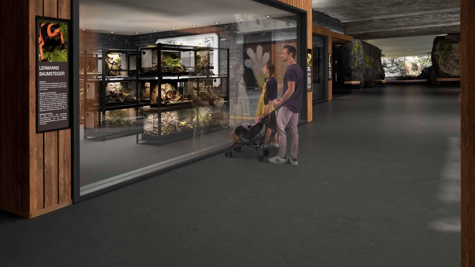 Visualisierung Projekt Forschungsstation Zoo Zürich
