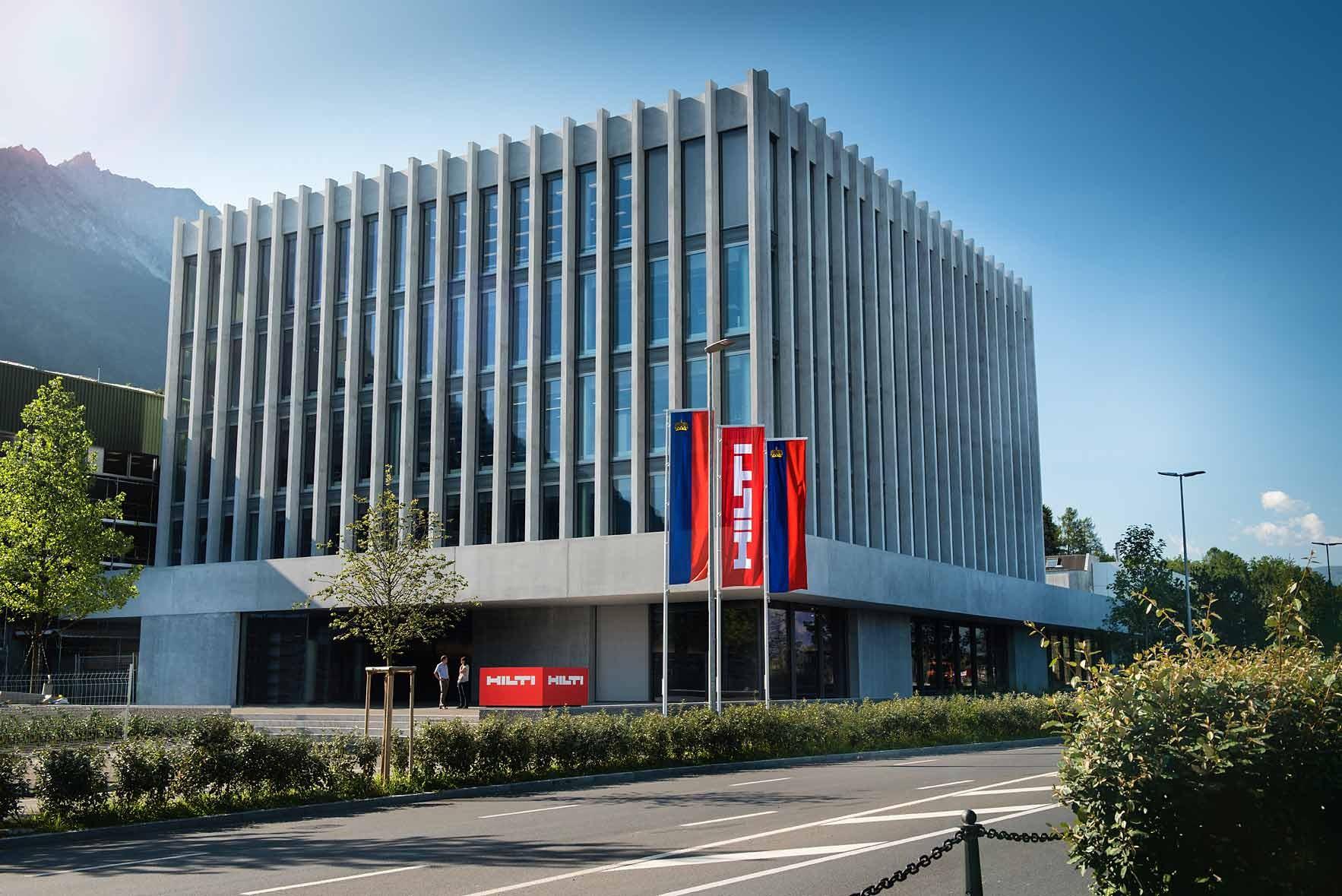Hilti-Sitz in Schaan Liechtenstein