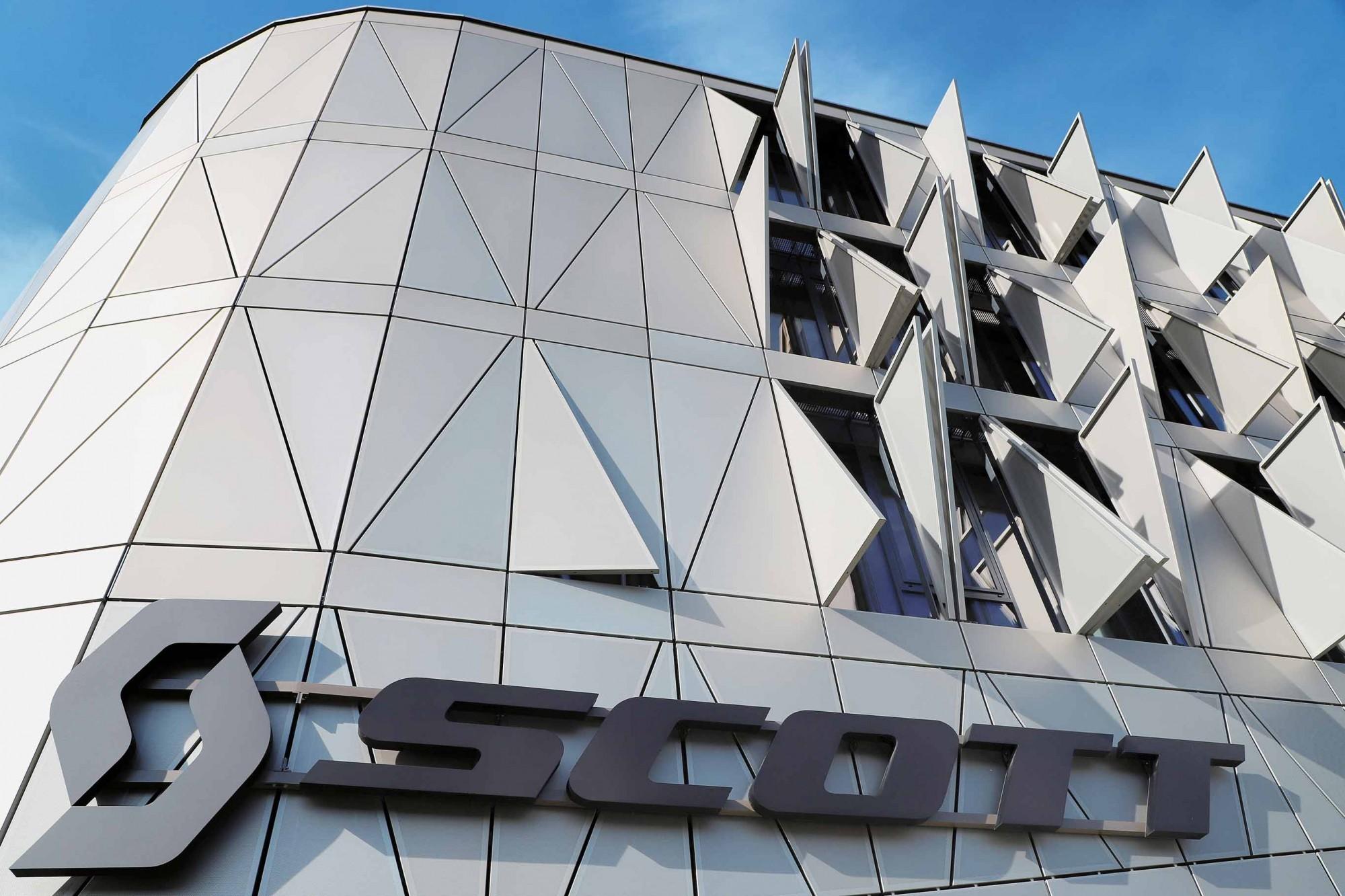 Neubau Hauptsitz Scott Sports Givisiez