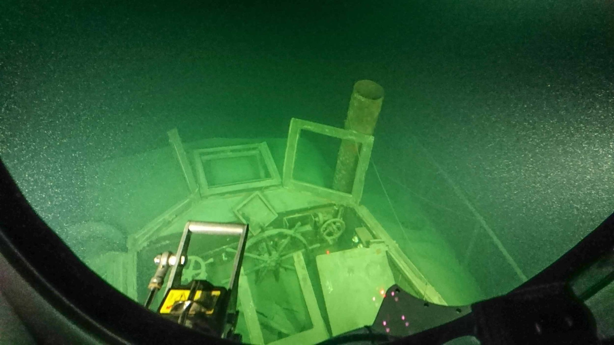 Subspirit U-Boot Tauchgang