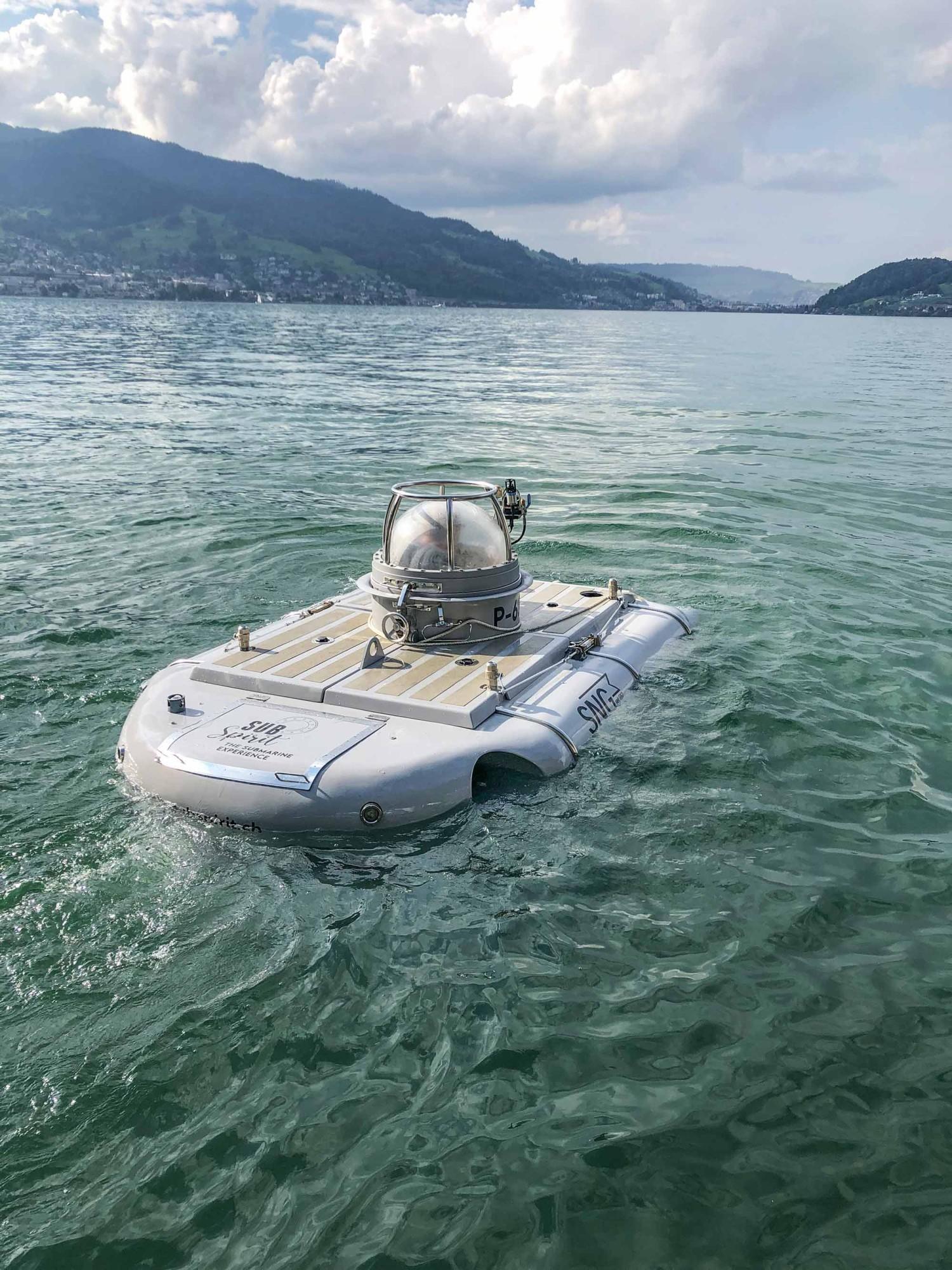 U-Boot P-63 im Vierwaldstättersee