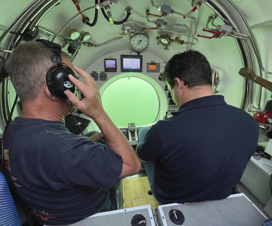 Subspirit-U-Boot-Piloten