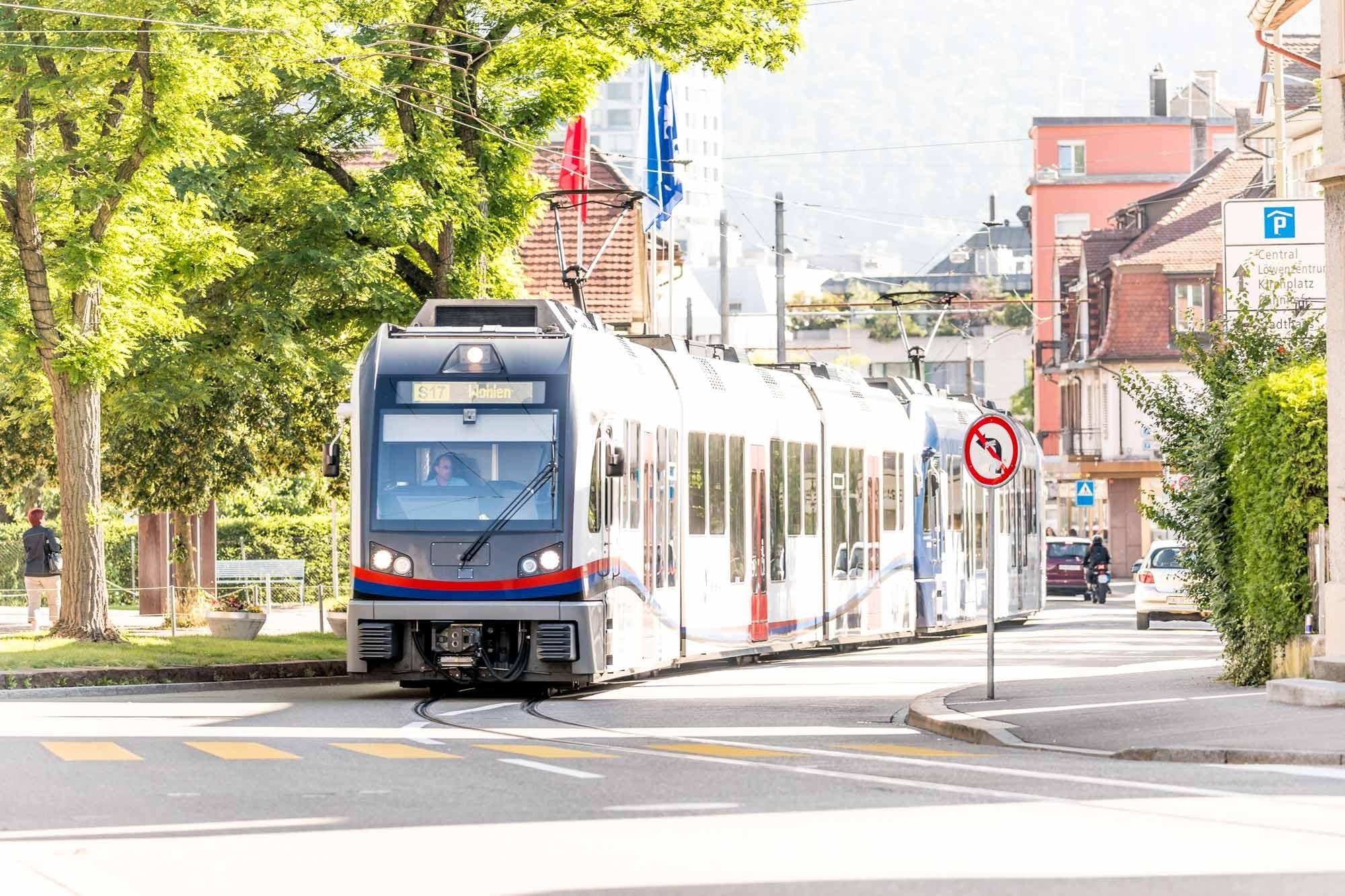 Bremgarten-Dietikon-Bahn in Dietikon