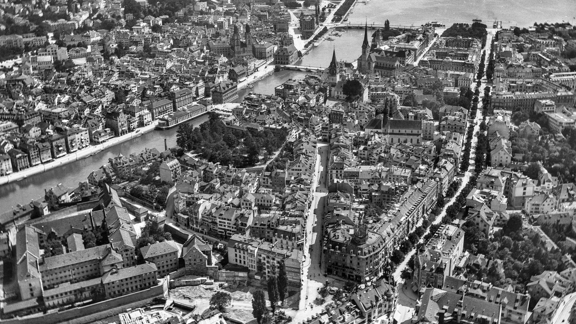 Zürich zwischen 1893 und 1923