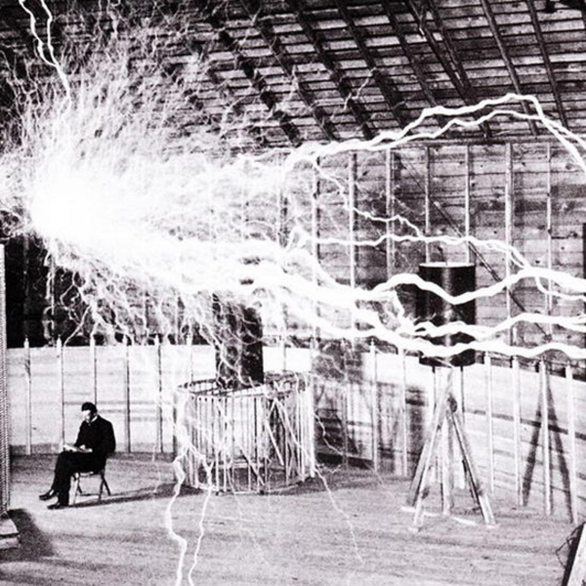 Nikola Tesla in Colorado. (Bild: wikimedia, CC)