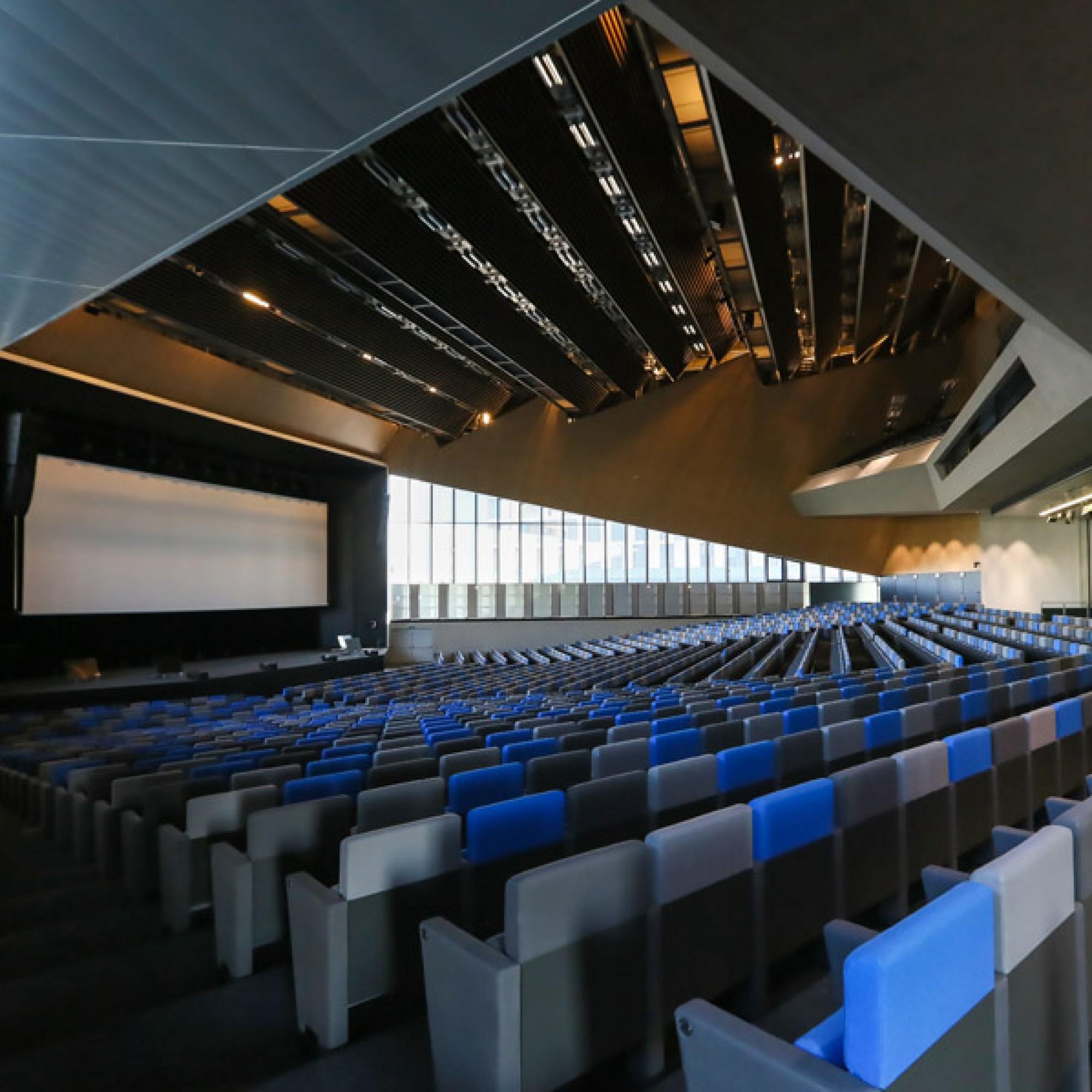 Das Auditorium.  (EPFL)