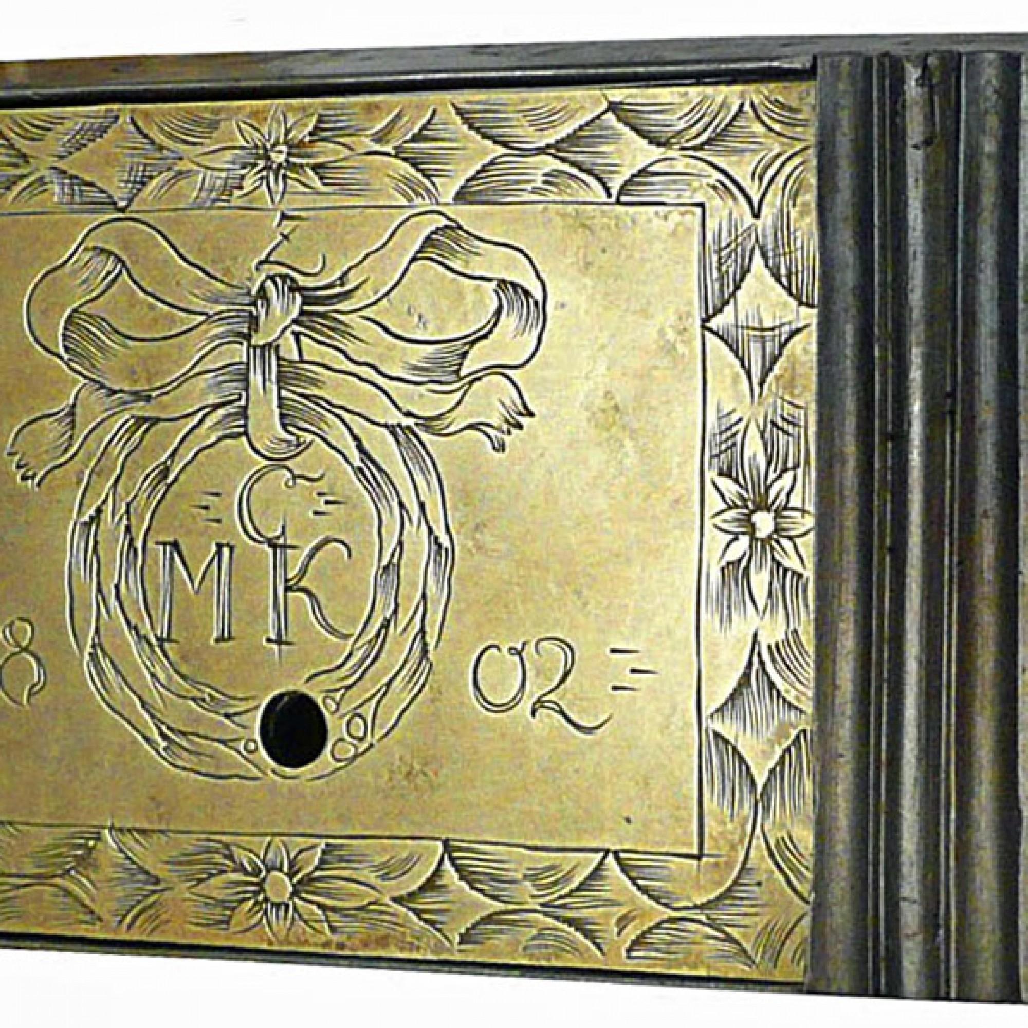 Schrankschloss um 1802. (Urs Weisshaupt / Historisches und Völkerkundemuseum St.Gallen)