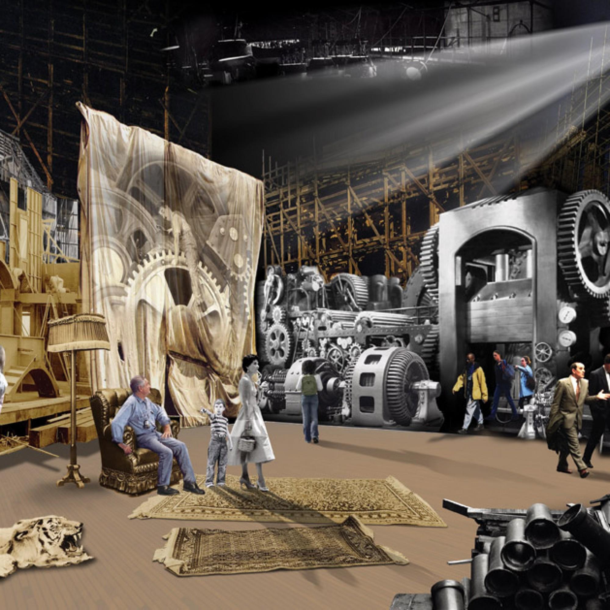 Studio 1 im geplanten Chaplin-Museum (Bild: chaplinmuseum.org)