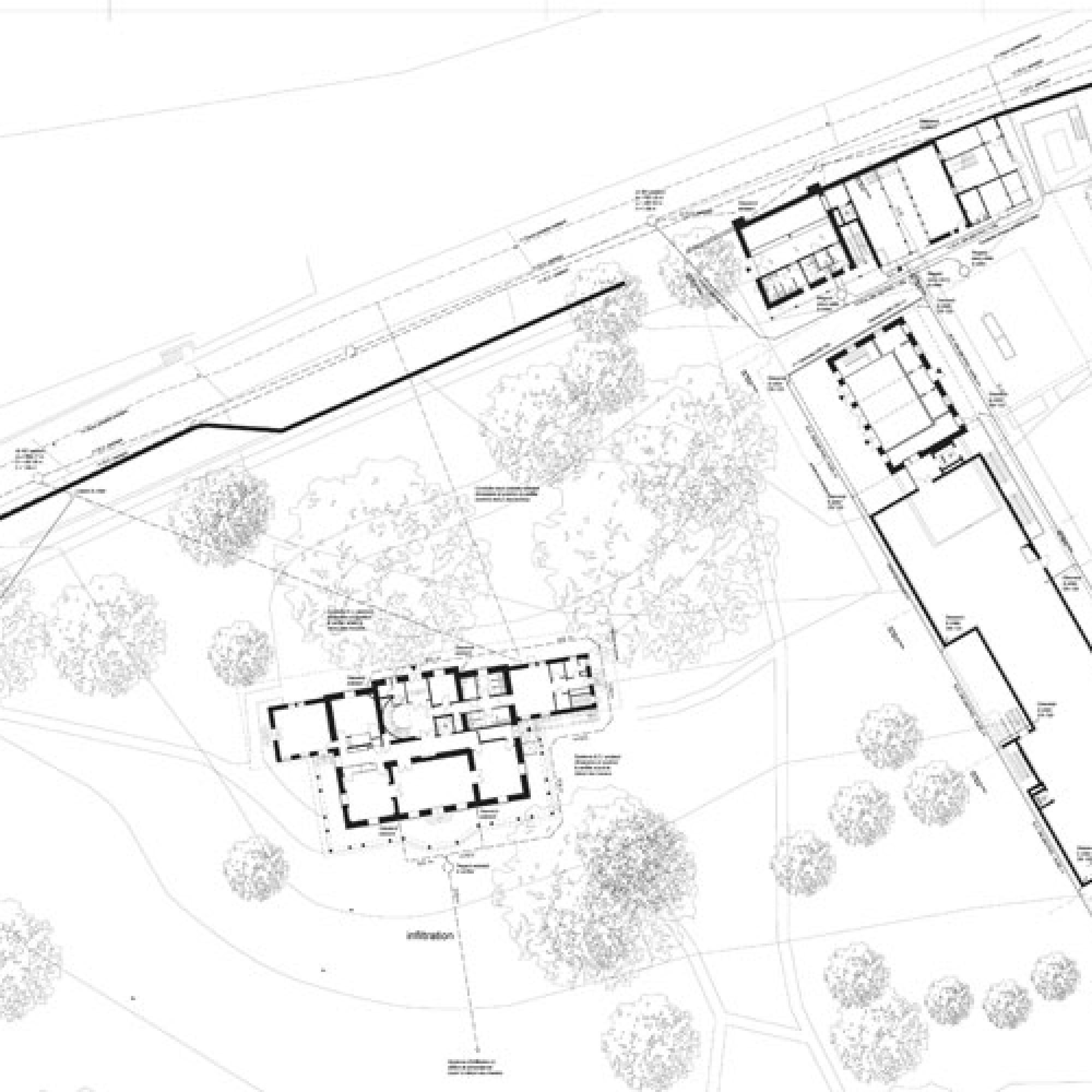 Grundriss Erdgeschoss des geplanten Chaplin-Museums (Bild: chaplinmuseum.org)