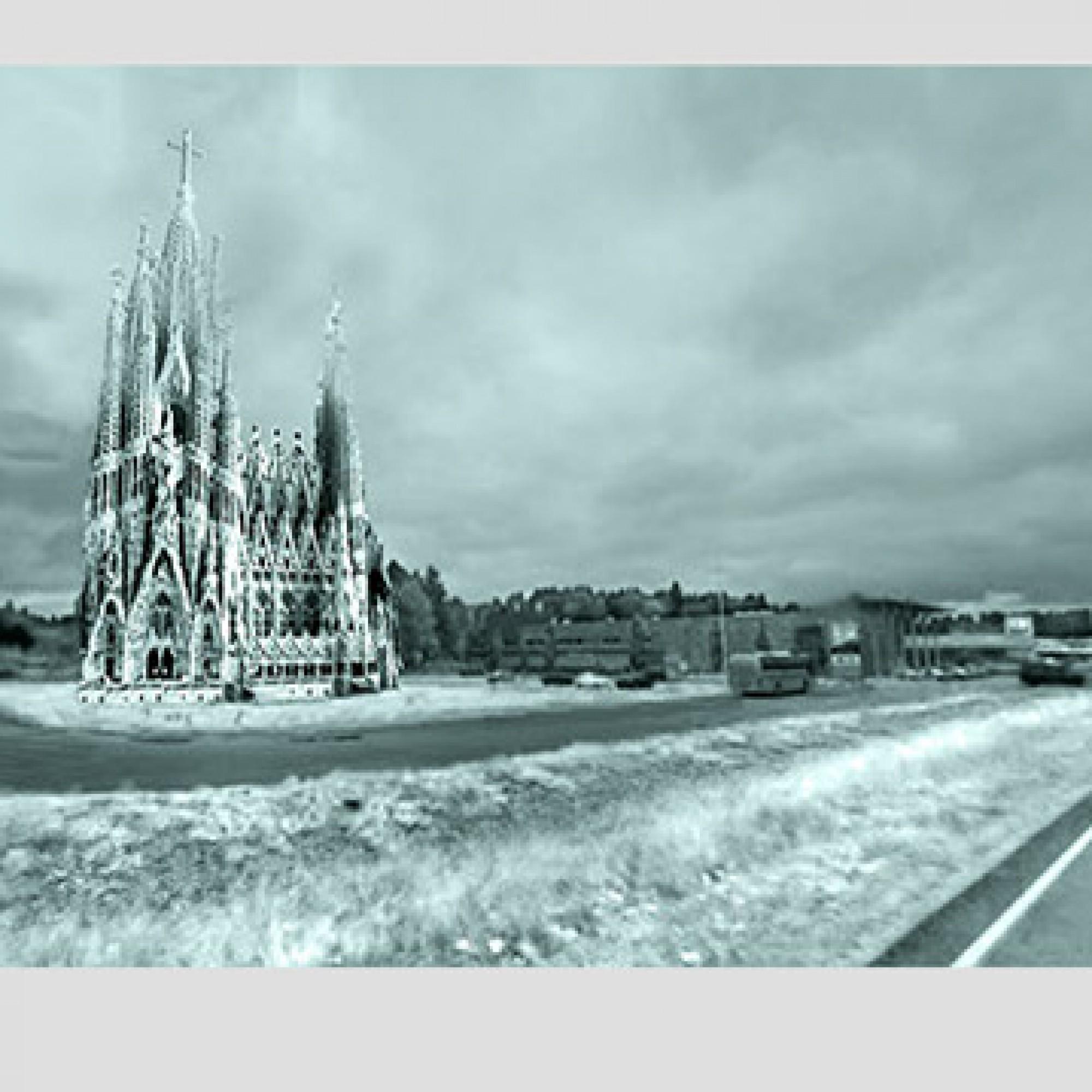 Finnische Sagrada Familia: Soll soll das eisige Bauwerk aussehen. (PD)