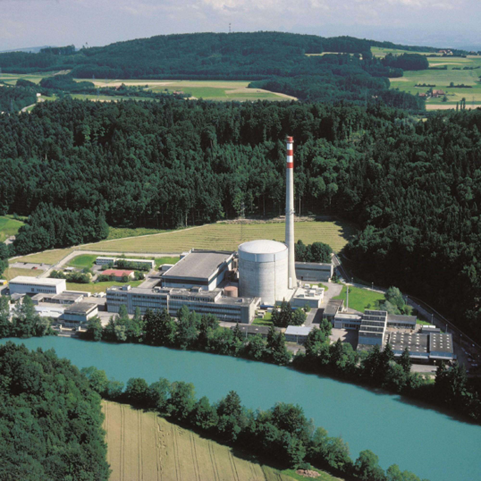 AKW Mühleberg (Bild: wikimedia, CC)