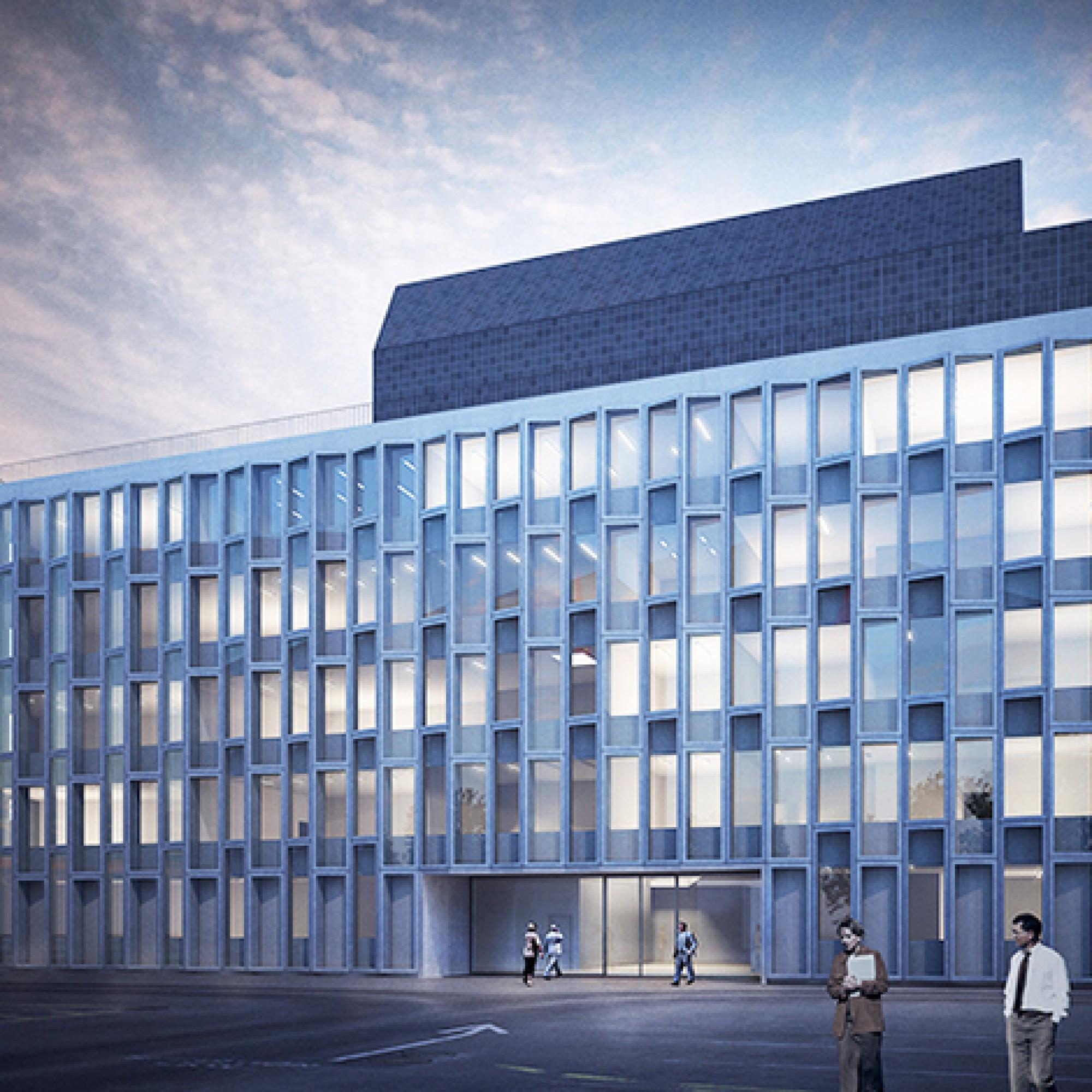 Geplanter Sika-Neubau in Altstetten (Bild: zvg)