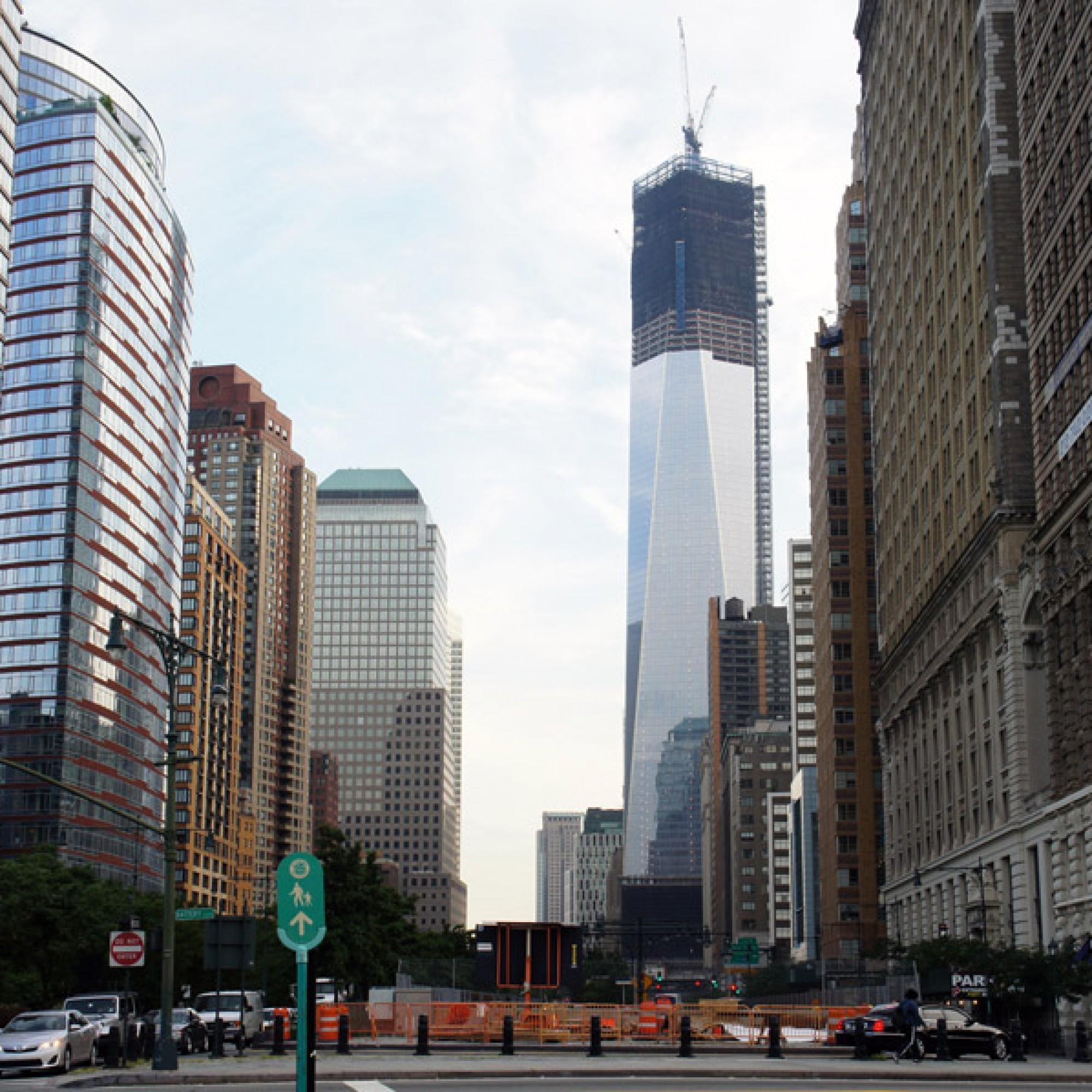Der höchste Turm der Vereinigten Staaten: das 1 WTC. (Camila Santos Ferreira Mario Roberto Duran Ortiz, Wikimedia, CC