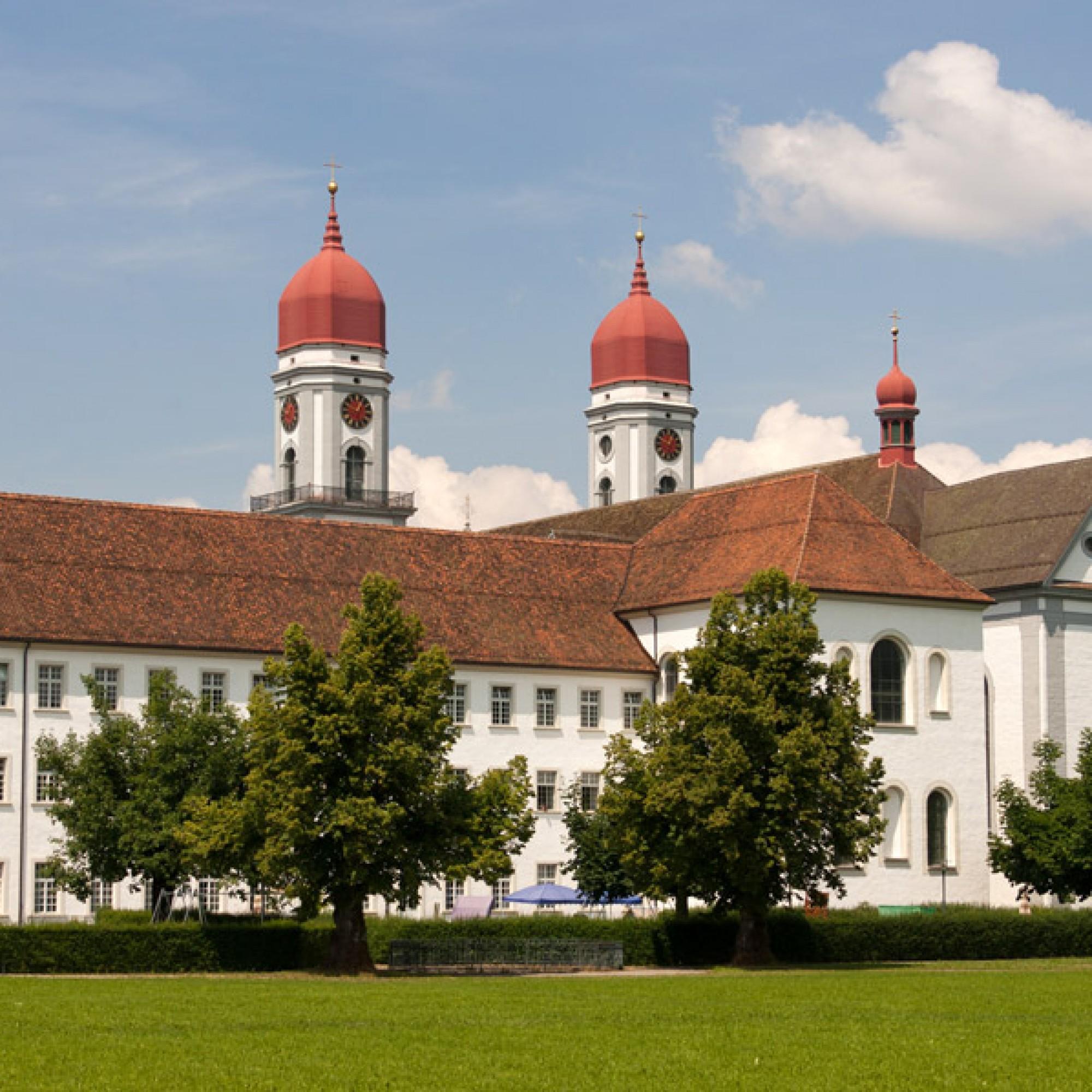 Das Zisterzienserkloster St. Urban in Pfaffnau LU. (Roland Zumbühl, wikimedia.org, CC)