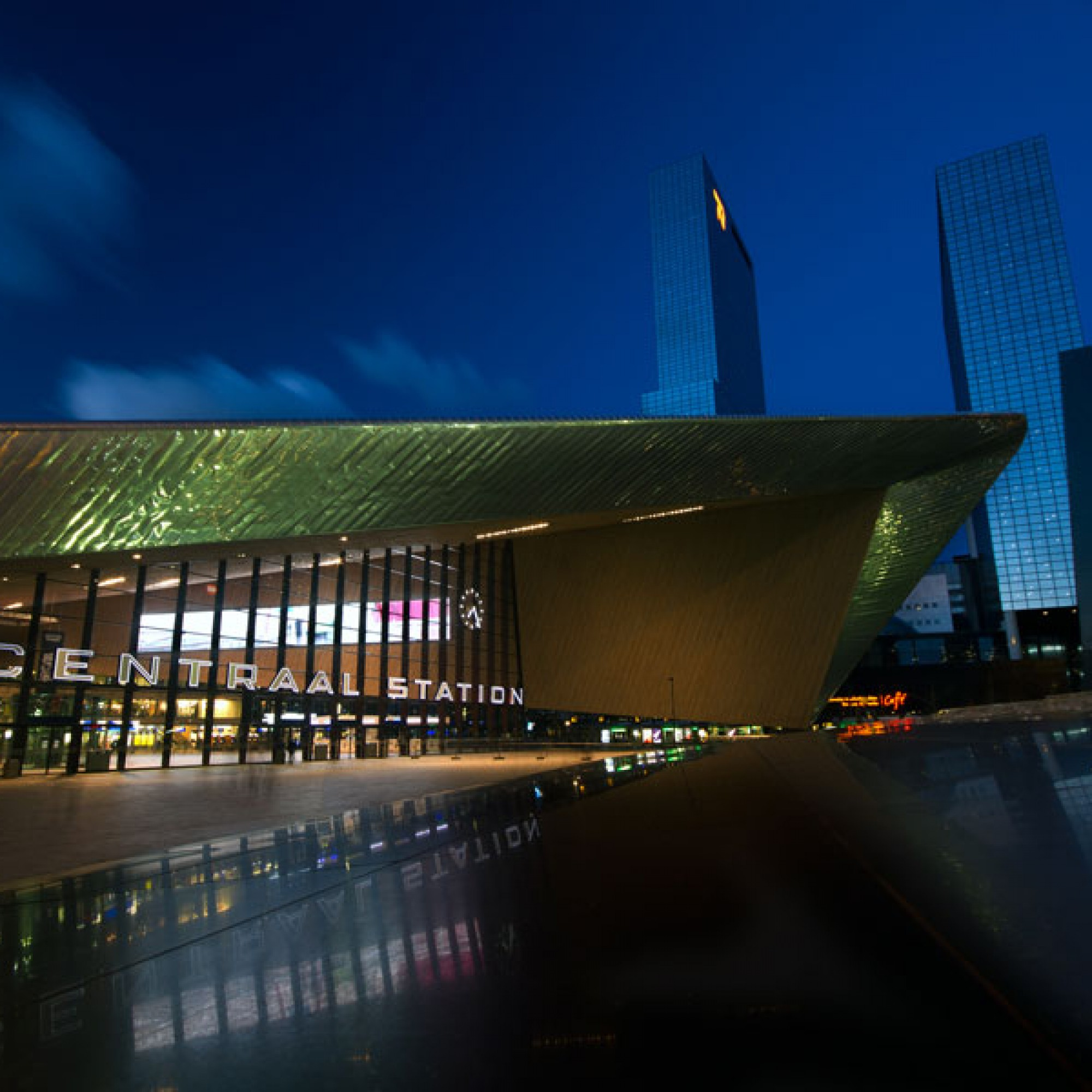 Rotterdam Centraal Station, Michal Switala