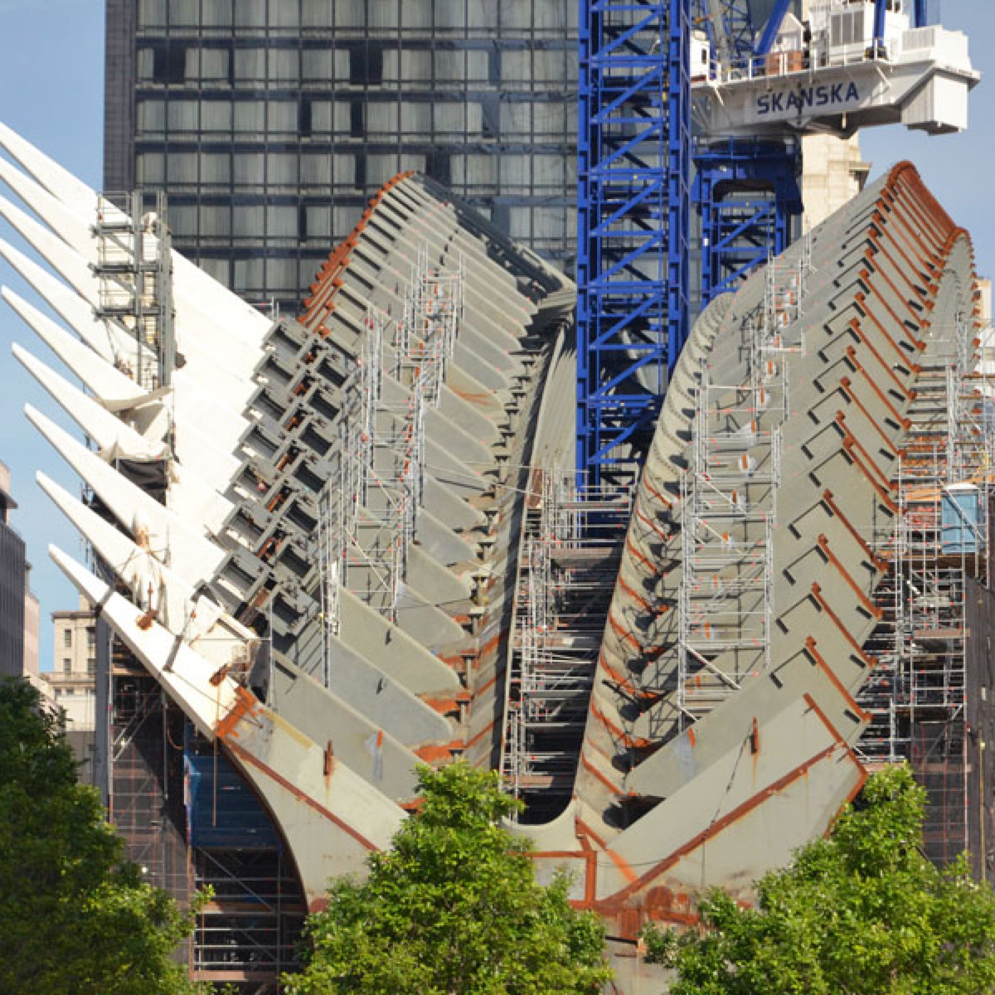 WTC Transportation Hub, Tectonic Photo
