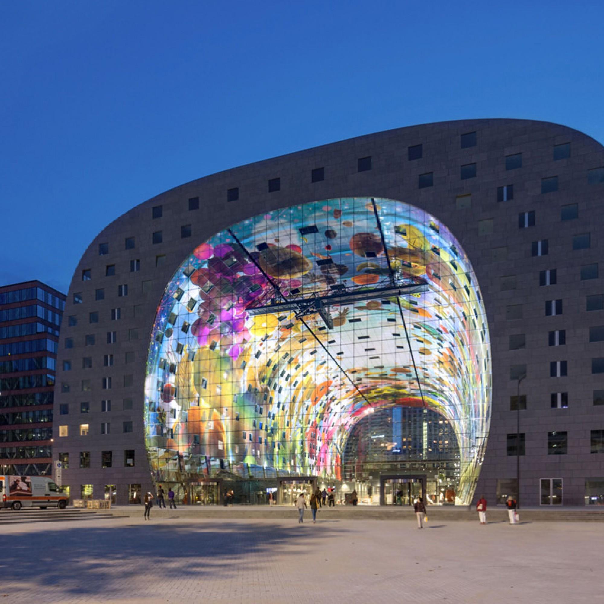 Der neue Foodmarkt in Rotterdam. (Bilder: Ossip van Duivenbode)