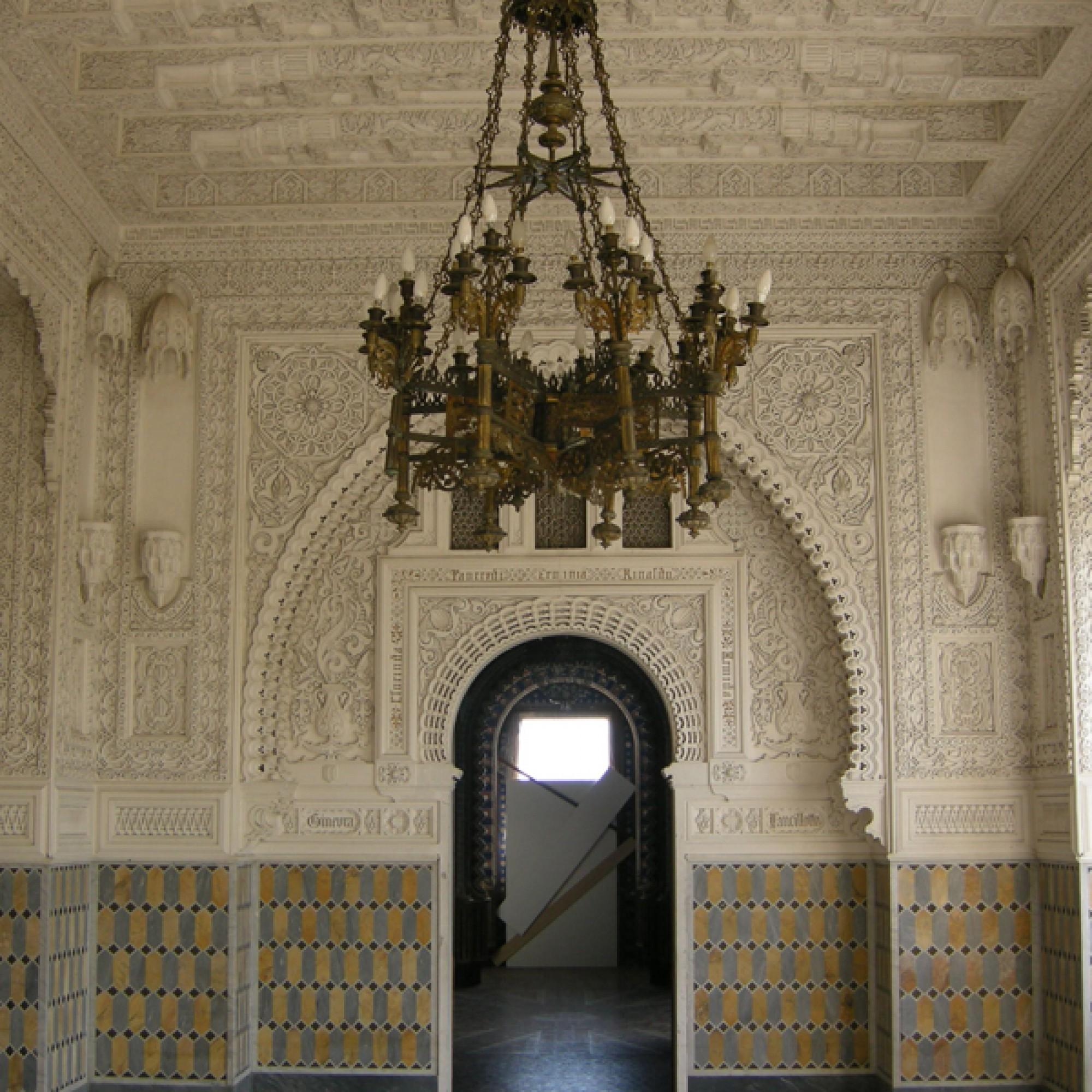Der «Lovers Room»: Zahlreiche Verzierungen schmücken die Wände. (www.wikimedia.org,sailko,CC)