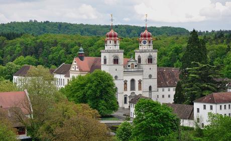 Kloster Rheinau (wikimedia.org, Hansueli Krapf, CC)