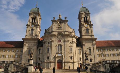 Kloster Einsiedeln (wikimedia.org, Hofef, CC)
