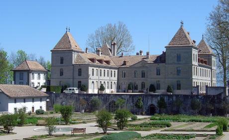 Schloss Prangins (wikimedia.org, sidonius, CC)
