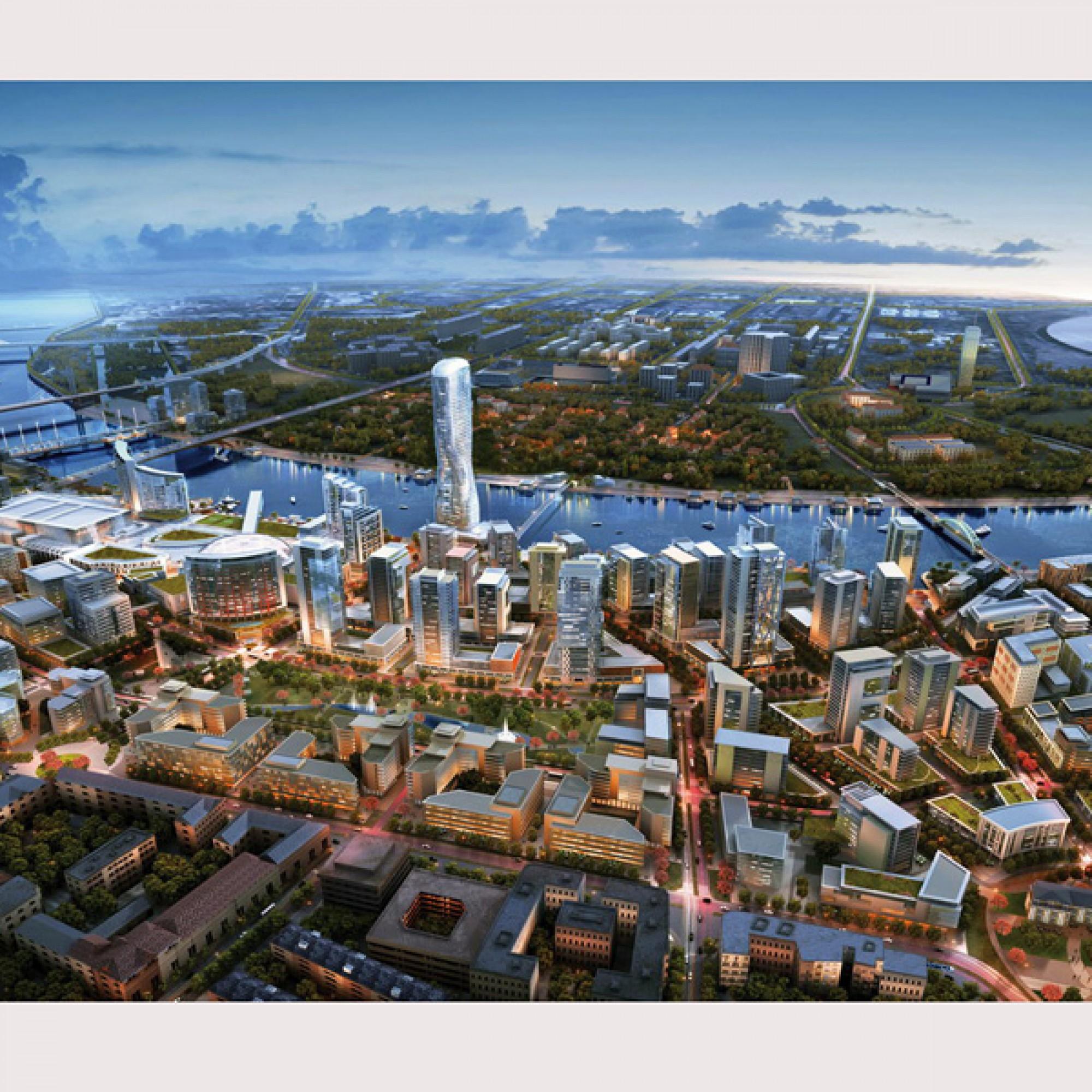 "Visualisierung ""Beograd na vodi"" (pd)"