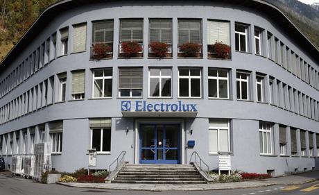 Das Electrolux-Werk in Schwanden (zvg)