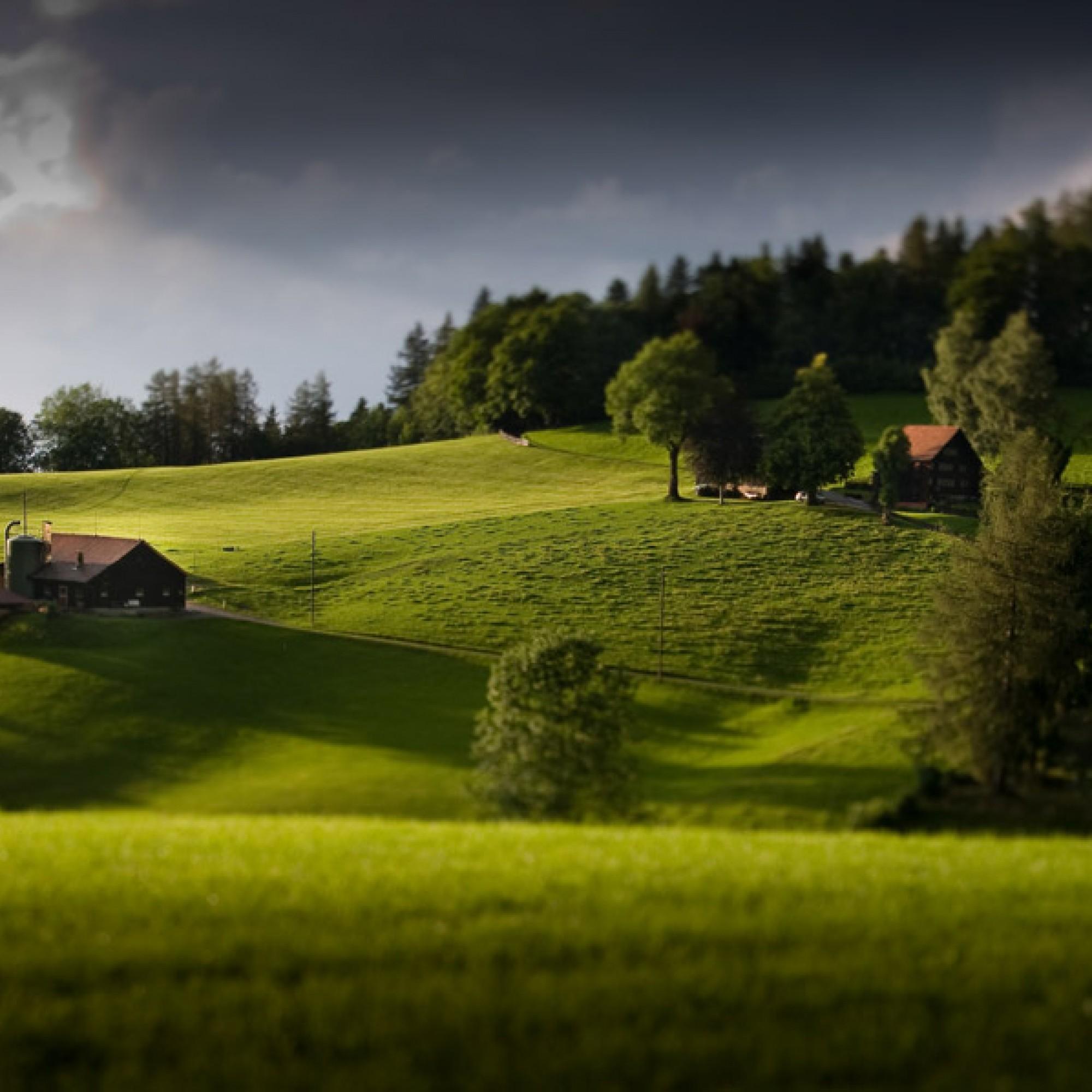 Auch sie sollen geschützt werden: Bauernhäuser bei Teufen AR (mille3, flickr, CC)