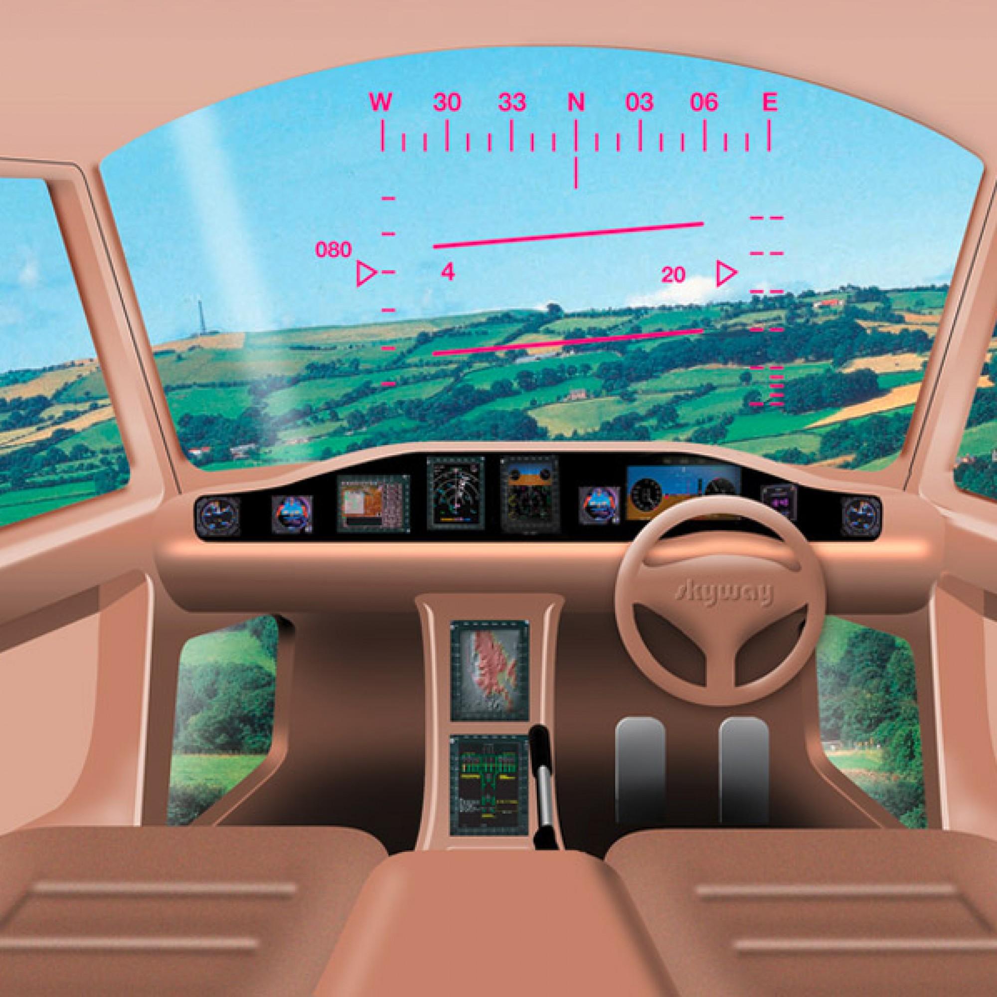 So könnte ein Cockpit aussehen, Visualisierung (zvg)