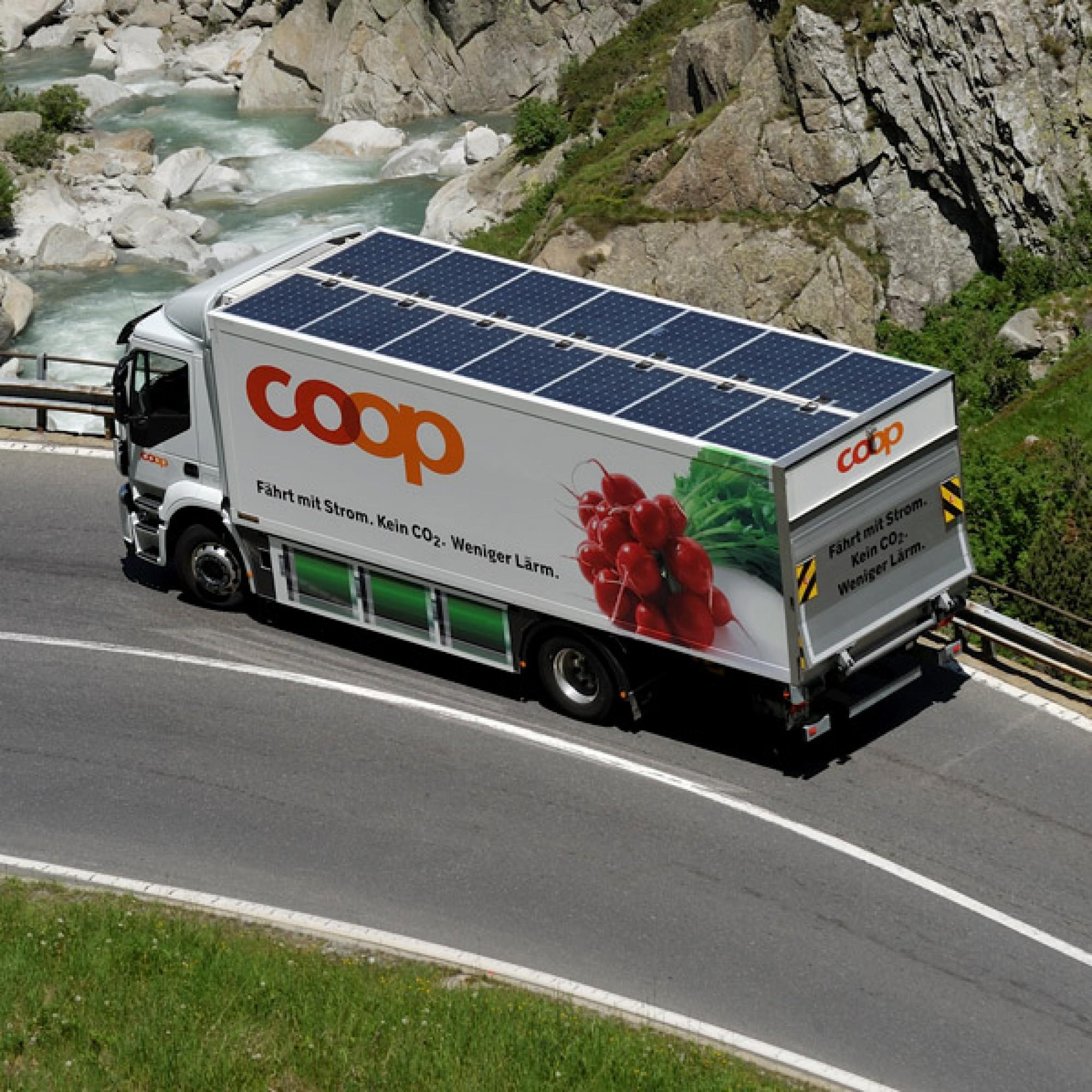 Der Elektro-LKW von Coop (zvg)