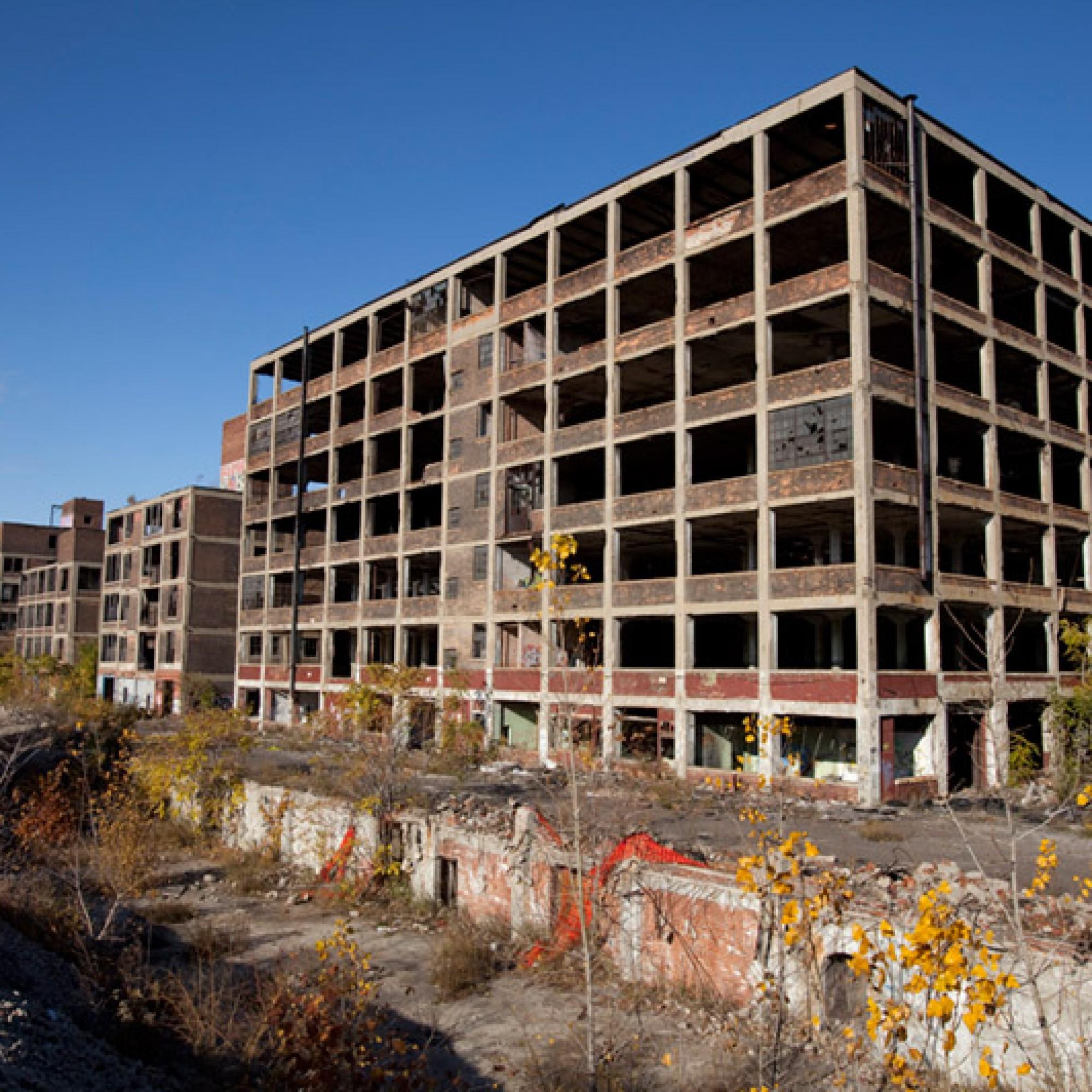 Noch ist die Anlage eine Ruine. (Albert duce, wikimdedia, CC)