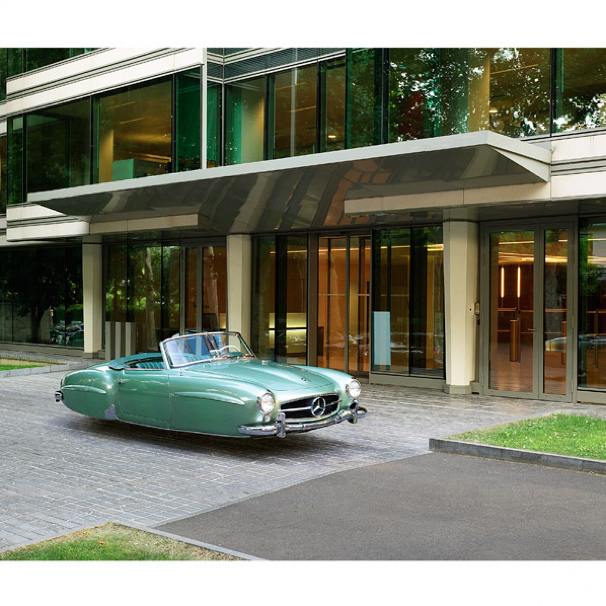 Mercedes 190 SL. (Renaud Marion / M.A.D. Gallery / zvg)